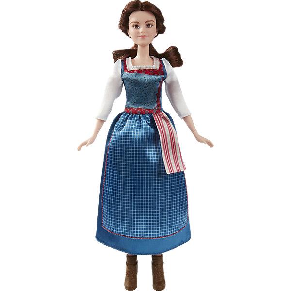 Бэлль в повседневном платье, Принцессы ДиснейПринцессы Дисней<br>Белль живет в книгах, находя себя в фантазиях и приключениях. Ее жизнь внезапно превращается в роман, в котором она жертвует своей свободой ради жизни в замке, затерянном в волшебстве и таинстве. Кукла одета в легендарное синее платье точь-в-точь как в фильме Дисней «Красавица и Чудовище». Комплект включает в себя куклу, платье и пару туфель.<br><br>Ширина мм: 323<br>Глубина мм: 147<br>Высота мм: 65<br>Вес г: 168<br>Возраст от месяцев: 36<br>Возраст до месяцев: 72<br>Пол: Женский<br>Возраст: Детский<br>SKU: 5129134