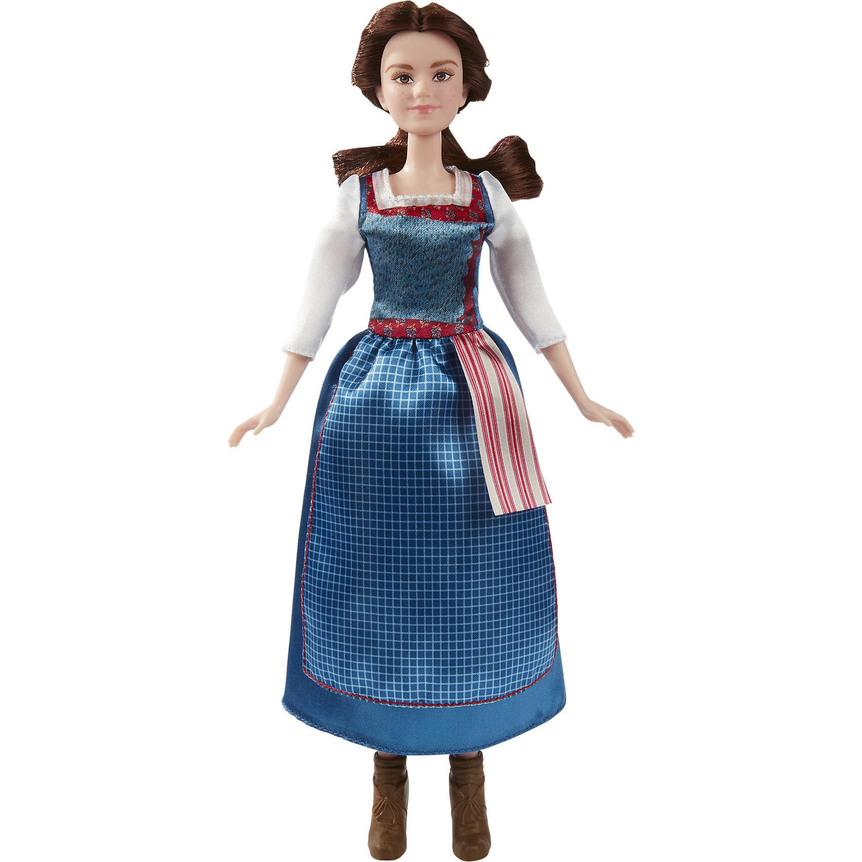 Бэлль в повседневном платье, Принцессы ДиснейКуклы-модели<br>Белль живет в книгах, находя себя в фантазиях и приключениях. Ее жизнь внезапно превращается в роман, в котором она жертвует своей свободой ради жизни в замке, затерянном в волшебстве и таинстве. Кукла одета в легендарное синее платье точь-в-точь как в фильме Дисней «Красавица и Чудовище». Комплект включает в себя куклу, платье и пару туфель.<br><br>Ширина мм: 323<br>Глубина мм: 147<br>Высота мм: 65<br>Вес г: 168<br>Возраст от месяцев: 36<br>Возраст до месяцев: 72<br>Пол: Женский<br>Возраст: Детский<br>SKU: 5129134