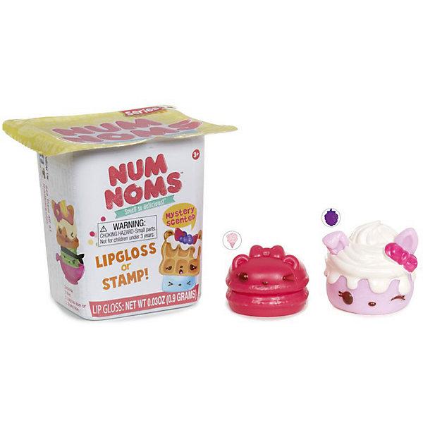 Блеск для губ-штамп с ароматом, в ассортименте, Num NomsНаборы детской косметики<br>Характеристики товара:<br><br>• упаковка: пластик<br>• возраст: 3+<br>• количество: 2 шт.<br>• страна производства: Китай<br><br>Подарок в виде игрушки приятен любому малышу. А подарок – сюрприз – вдвойне. Пластиковая коробочка скрывает содержимое, сохраняя интригу до последнего момента. Внутри находится ароматный блеск для губ и штамп для декора. Главные герои – персонажи известного мультфильма. Соберите всю модную коллекцию!комплектация: плакат со всеми фигурками.  Материалы, использованные при изготовлении товара, сертифицированы и отвечают всем международным требованиям по качеству. <br><br>Блеск для губ-штамп с ароматом, в ассортименте, Num Noms можно приобрести в нашем интернет-магазине.<br><br>Ширина мм: 80<br>Глубина мм: 78<br>Высота мм: 63<br>Вес г: 24<br>Возраст от месяцев: 36<br>Возраст до месяцев: 72<br>Пол: Женский<br>Возраст: Детский<br>SKU: 5133706