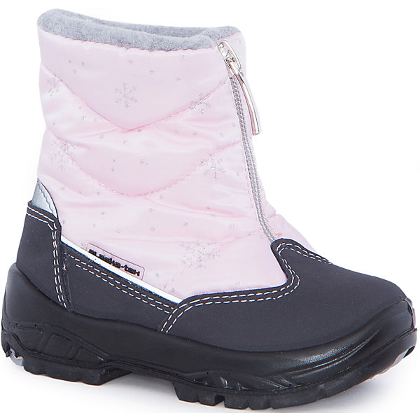 Сапоги  Alaska OriginaleДутики<br>Сапоги  Alaska Originale<br>Зимняя обувь с мембранным слоем для активных прогулок. Температурный режим от 0 до -25С.<br>Состав: Верх:54%ПЭ;46%ПА ; Подкладка:100%овечья шерсть Подошва:Полиуретан+Термополиуретан<br><br>Ширина мм: 257<br>Глубина мм: 180<br>Высота мм: 130<br>Вес г: 420<br>Цвет: розовый<br>Возраст от месяцев: 15<br>Возраст до месяцев: 18<br>Пол: Женский<br>Возраст: Детский<br>Размер: 22,20,21,26,25,24,23<br>SKU: 5134302