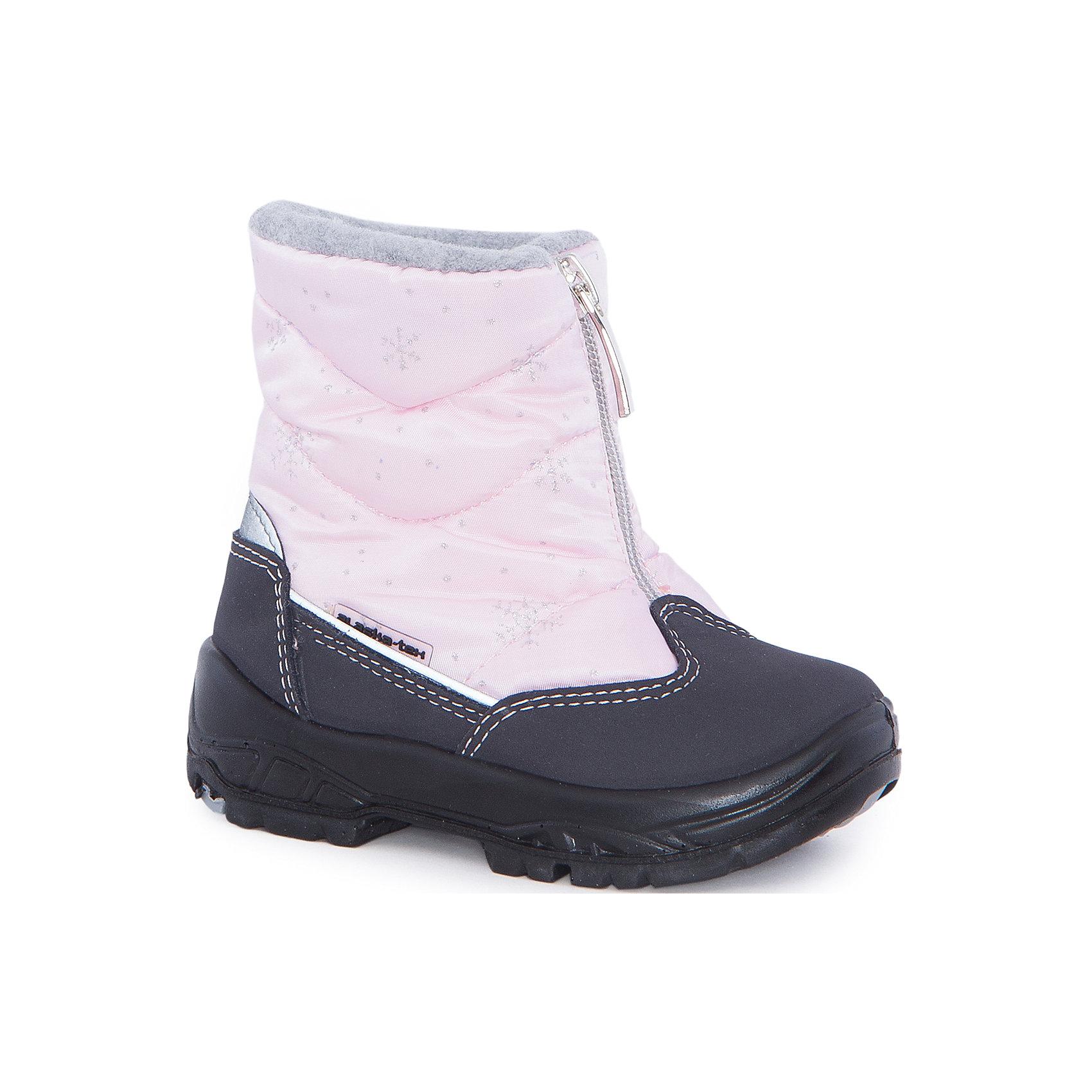 Сапоги  Alaska OriginaleДутики<br>Сапоги  Alaska Originale<br>Зимняя обувь с мембранным слоем для активных прогулок. Температурный режим от 0 до -25С.<br>Состав: Верх:54%ПЭ;46%ПА ; Подкладка:100%овечья шерсть Подошва:Полиуретан+Термополиуретан<br><br>Ширина мм: 257<br>Глубина мм: 180<br>Высота мм: 130<br>Вес г: 420<br>Цвет: розовый<br>Возраст от месяцев: 15<br>Возраст до месяцев: 18<br>Пол: Женский<br>Возраст: Детский<br>Размер: 22,26,25,24,23<br>SKU: 5134302