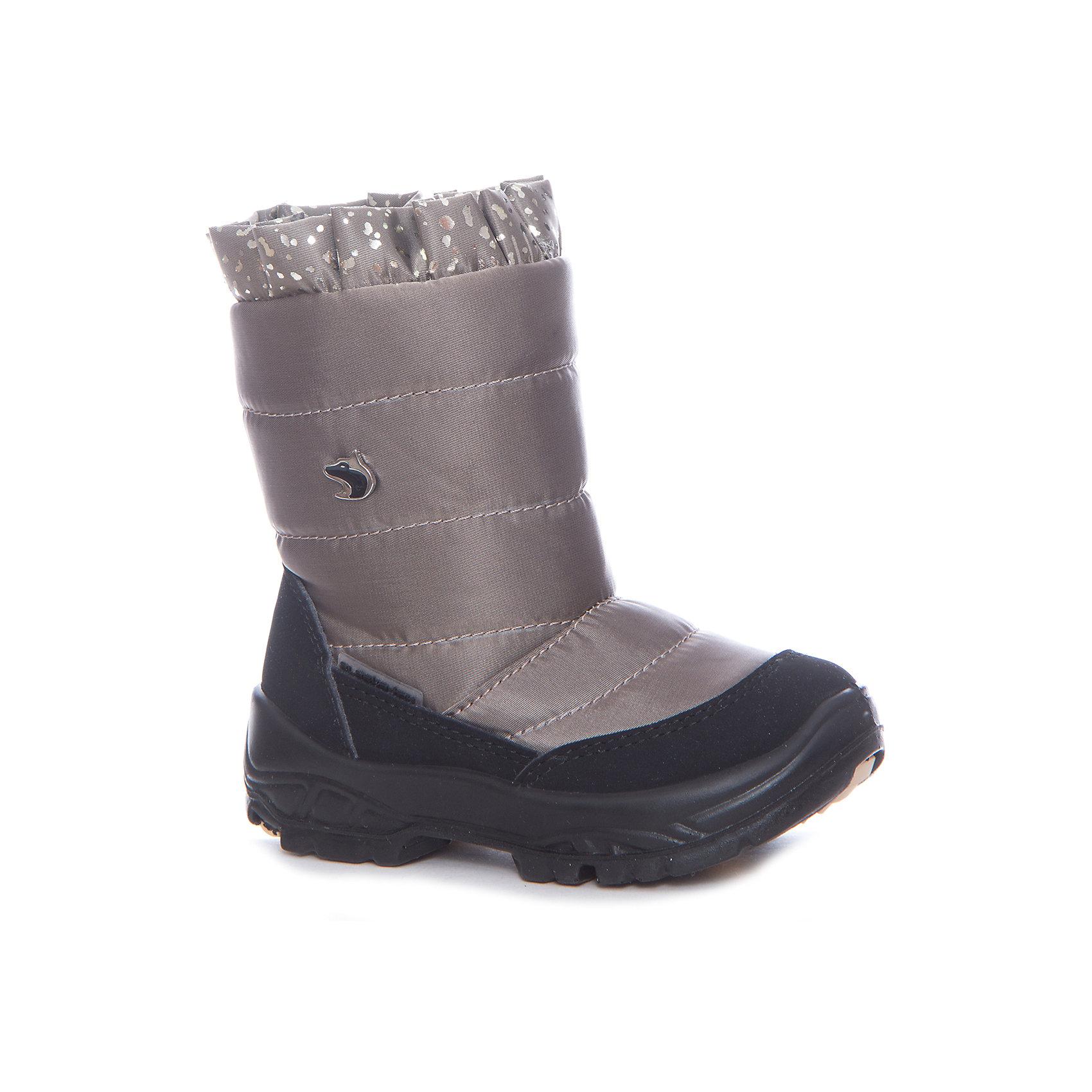 Сапоги для девочки Alaska OriginaleХарактеристики товара:<br><br>• цвет: коричневый<br>• материал верха: 54% ПЭ, 46% ПА<br>• материал подкладки: 100% овечья шерсть <br>• материал подошвы: полиуретан, термополиуретан<br>• температурный режим: от-25° до 0° С<br>• мембранный слой<br>• блестящий присобранный верх<br>• застежка: молния<br>• толстая устойчивая подошва<br>• усиленные пятка и носок<br>• страна бренда: Италия<br>• страна изготовитель: Румыния<br><br>Качественная обувь особенна важна в суровых условиях русской зимы. Чтобы не пропустить главные зимние удовольствия, нужно запастись теплой и удобной обувью! Такие сапожки обеспечат ребенку необходимый для активного отдыха комфорт, а мембранный слой позволит ножкам оставаться сухими: он выводит наружу лишнюю влагу, не пропуская жидкости внутрь. Сапожки легко надеваются и снимаются, отлично сидят на ноге. <br>Обувь от итальянского бренда Alaska Originale - это качественные товары, созданные с применением новейших технологий и с использованием как натуральных, так и высокотехнологичных материалов. Обувь отличается стильным дизайном и продуманной конструкцией. Изделие производится из качественных и проверенных материалов, которые безопасны для детей.<br><br>Сапоги для девочки от бренда Alaska Originale можно купить в нашем интернет-магазине.<br><br>Ширина мм: 257<br>Глубина мм: 180<br>Высота мм: 130<br>Вес г: 420<br>Цвет: коричневый<br>Возраст от месяцев: 18<br>Возраст до месяцев: 21<br>Пол: Женский<br>Возраст: Детский<br>Размер: 23,27,26,25,24<br>SKU: 5134381