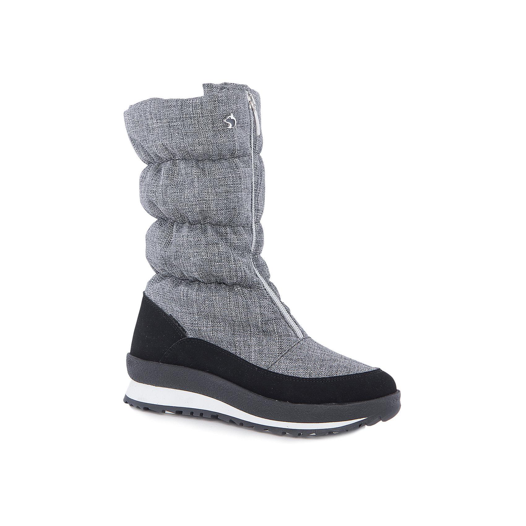 Сапоги для девочки Alaska OriginaleСапоги для девочки Alaska Originale<br>Зимняя обувь с мембранным слоем для активных прогулок. Температурный режим от 0 до -25С.<br>Состав: Верх:54%ПЭ;46%ПА ; Подкладка:Текстильные материалыПодошва:Термопластик<br><br>Ширина мм: 257<br>Глубина мм: 180<br>Высота мм: 130<br>Вес г: 420<br>Цвет: серый<br>Возраст от месяцев: 144<br>Возраст до месяцев: 156<br>Пол: Женский<br>Возраст: Детский<br>Размер: 36,40,38,39,37<br>SKU: 5134408