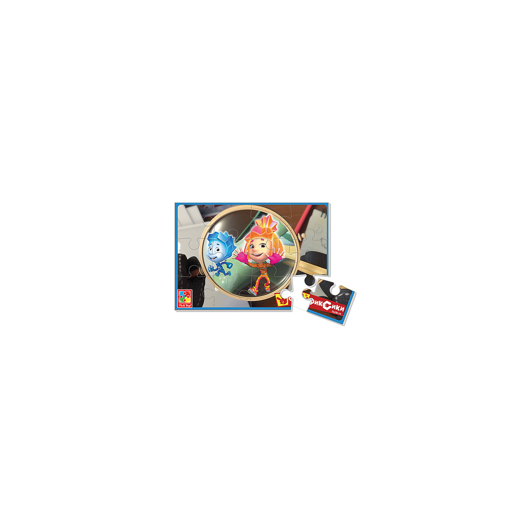 Vladi Toys Мягкие пазлы  А5 Фиксики, Vladi Toys пазлы vladi toys пазлы мягкие baby puzzle сказки репка