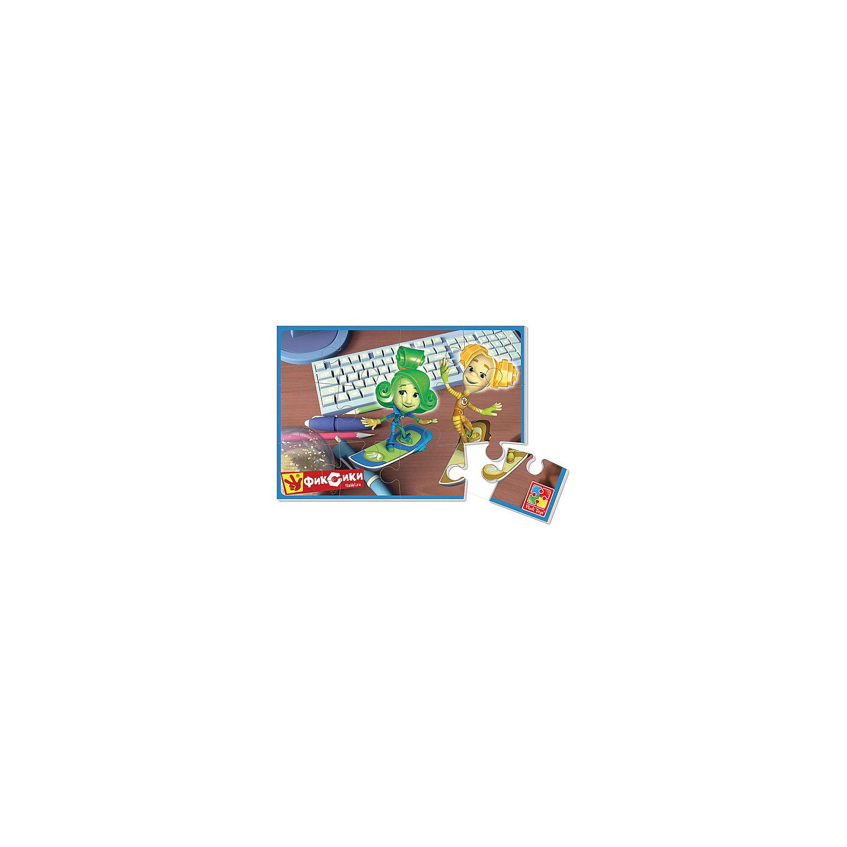 Vladi Toys Мягкие пазлы А5 Фиксики, Vladi Toys пазлы origami пазлы 4 в 1 фиксики 12550