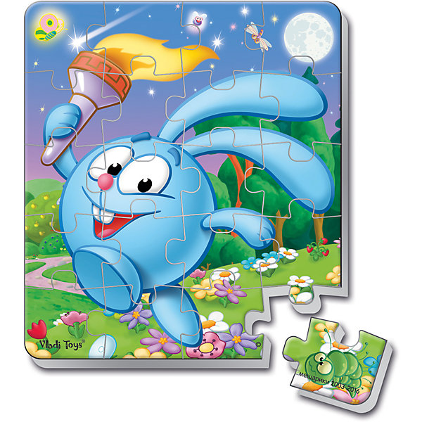 Мягкие магнитные пазлы в стакане Крош, Смешарики, Vladi ToysПазлы для малышей<br>Характеристики:<br><br>• Вид игр: развивающие<br>• Серия: пазлы-магниты<br>• Пол: универсальный<br>• Материал: полимер, пластик, магнит<br>• Цвет: голубой, белый, зеленый, коричневый и др.<br>• Комплектация: 1 пазл из 20-ти элементов, магнит<br>• Размеры (Д*Ш*В): 7,5*7,5*11 см<br>• Тип упаковки: пластиковый стакан <br>• Вес: 37 г<br><br>Мягкие магнитные пазлы в стакане Крош, Смешарики, Vladi Toys, производителем которых является компания, специализирующаяся на выпуске развивающих игр, давно уже стали популярными среди аналогичной продукции. Мягкие пазлы – идеальное решение для развивающих занятий с самыми маленькими детьми, так как они разделены на большие элементы с крупными изображениями, чаще всего в качестве картинок используются герои популярных мультсериалов. Самое важное в пазле для малышей – это минимум деталей и безопасность элементов. Все используемые в производстве материалы являются экологически безопасными, не вызывают аллергии, не имеют запаха. Мягкие магнитные пазлы в стакане Крош, Смешарики, Vladi Toys представляет собой сюжетную картинку, которая состоит из 20-и магнитных элементов с изображением Кроша с факелом. <br>Занятия с мягкими пазлами от Vladi Toys способствуют развитию не только мелкой моторики, но и внимательности, усидчивости, терпению при достижении цели. Кроме того, по собранной картинке можно составлять рассказ, что позволит развивать речевые навыки, память и воображение.<br><br>Мягкие магнитные пазлы в стакане Крош, Смешарики, Vladi Toys можно купить в нашем интернет-магазине.<br>Ширина мм: 75; Глубина мм: 75; Высота мм: 110; Вес г: 37; Возраст от месяцев: 24; Возраст до месяцев: 60; Пол: Унисекс; Возраст: Детский; SKU: 5136093;