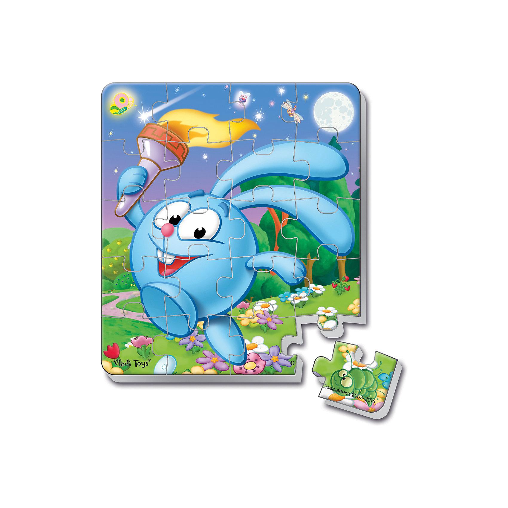Мягкие магнитные пазлы в стакане Крош, Смешарики, Vladi ToysХарактеристики:<br><br>• Вид игр: развивающие<br>• Серия: пазлы-магниты<br>• Пол: универсальный<br>• Материал: полимер, пластик, магнит<br>• Цвет: голубой, белый, зеленый, коричневый и др.<br>• Комплектация: 1 пазл из 20-ти элементов, магнит<br>• Размеры (Д*Ш*В): 7,5*7,5*11 см<br>• Тип упаковки: пластиковый стакан <br>• Вес: 37 г<br><br>Мягкие магнитные пазлы в стакане Крош, Смешарики, Vladi Toys, производителем которых является компания, специализирующаяся на выпуске развивающих игр, давно уже стали популярными среди аналогичной продукции. Мягкие пазлы – идеальное решение для развивающих занятий с самыми маленькими детьми, так как они разделены на большие элементы с крупными изображениями, чаще всего в качестве картинок используются герои популярных мультсериалов. Самое важное в пазле для малышей – это минимум деталей и безопасность элементов. Все используемые в производстве материалы являются экологически безопасными, не вызывают аллергии, не имеют запаха. Мягкие магнитные пазлы в стакане Крош, Смешарики, Vladi Toys представляет собой сюжетную картинку, которая состоит из 20-и магнитных элементов с изображением Кроша с факелом. <br>Занятия с мягкими пазлами от Vladi Toys способствуют развитию не только мелкой моторики, но и внимательности, усидчивости, терпению при достижении цели. Кроме того, по собранной картинке можно составлять рассказ, что позволит развивать речевые навыки, память и воображение.<br><br>Мягкие магнитные пазлы в стакане Крош, Смешарики, Vladi Toys можно купить в нашем интернет-магазине.<br><br>Ширина мм: 75<br>Глубина мм: 75<br>Высота мм: 110<br>Вес г: 37<br>Возраст от месяцев: 24<br>Возраст до месяцев: 60<br>Пол: Унисекс<br>Возраст: Детский<br>SKU: 5136093