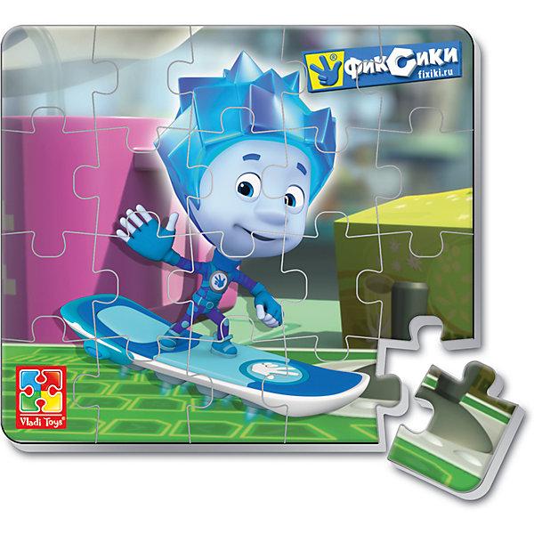 Мягкие магнитные пазлы в стакане Нолик, Фиксики, Vladi ToysПазлы для малышей<br>Характеристики:<br><br>• Вид игр: развивающие<br>• Серия: пазлы-магниты<br>• Пол: универсальный<br>• Материал: полимер, картон, магнит<br>• Цвет: голубой, желтый, зеленый и др.<br>• Комплектация: 1 пазл из 20-ти элементов, магнит<br>• Размеры (Д*Ш*В): 7,5*7,5*11 см<br>• Тип упаковки: пластиковый стаканчик<br>• Вес: 37 г<br><br>Мягкие магнитные пазлы в стакане Нолик, Фиксики, Vladi Toys, производителем которых является компания, специализирующаяся на выпуске развивающих игр, давно уже стали популярными среди аналогичной продукции. Мягкие пазлы – идеальное решение для развивающих занятий с самыми маленькими детьми, так как они разделены на большие элементы с крупными изображениями, чаще всего в качестве картинок используются герои популярных мультсериалов. Самое важное в пазле для малышей – это минимум деталей и безопасность элементов. Все используемые в производстве материалы являются экологически безопасными, не вызывают аллергии, не имеют запаха. Мягкие магнитные пазлы в стакане Нолик, Фиксики, Vladi Toys представляют собой сюжетную картинку, которая состоит из 20-и магнитных элементов с изображением Нолика. <br>Занятия с мягкими пазлами от Vladi Toys способствуют развитию не только мелкой моторики, но и внимательности, усидчивости, терпению при достижении цели. Кроме того, по собранной картинке можно составлять рассказ, что позволит развивать речевые навыки, память и воображение.<br><br>Мягкие магнитные пазлы в стакане Нолик, Фиксики, Vladi Toys можно купить в нашем интернет-магазине.<br>Ширина мм: 75; Глубина мм: 75; Высота мм: 110; Вес г: 37; Возраст от месяцев: 24; Возраст до месяцев: 60; Пол: Унисекс; Возраст: Детский; SKU: 5136097;