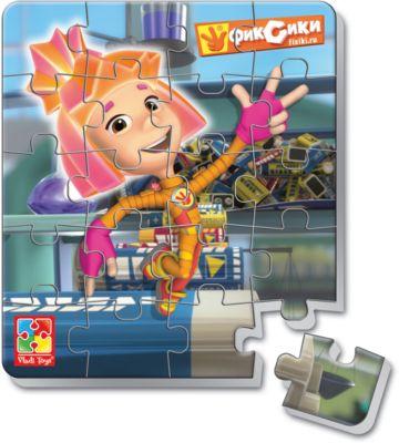 Мягкие магнитные пазлы в стакане Симка , Фиксики, Vladi Toys