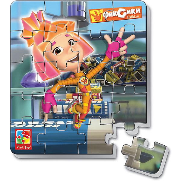 Мягкие магнитные пазлы в стакане Симка, Фиксики, Vladi ToysПопулярные игрушки<br>Характеристики:<br><br>• Вид игр: развивающие<br>• Серия: пазлы-магниты<br>• Пол: универсальный<br>• Материал: полимер, картон, магнит<br>• Цвет: оранжевый, розовый, синий, голубой и др.<br>• Комплектация: 1 пазл из 20-ти элементов, магнит<br>• Размеры (Д*Ш*В): 7,5*7,5*11 см<br>• Тип упаковки: пластиковый стаканчик<br>• Вес: 37 г<br><br>Мягкие магнитные пазлы в стакане Симка, Фиксики, Vladi Toys, производителем которых является компания, специализирующаяся на выпуске развивающих игр, давно уже стали популярными среди аналогичной продукции. Мягкие пазлы – идеальное решение для развивающих занятий с самыми маленькими детьми, так как они разделены на большие элементы с крупными изображениями, чаще всего в качестве картинок используются герои популярных мультсериалов. Самое важное в пазле для малышей – это минимум деталей и безопасность элементов. Все используемые в производстве материалы являются экологически безопасными, не вызывают аллергии, не имеют запаха. Мягкие магнитные пазлы в стакане Симка, Фиксики, Vladi Toys представляют собой сюжетную картинку, которая состоит из 20-и магнитных элементов с изображением Симки. <br>Занятия с мягкими пазлами от Vladi Toys способствуют развитию не только мелкой моторики, но и внимательности, усидчивости, терпению при достижении цели. Кроме того, по собранной картинке можно составлять рассказ, что позволит развивать речевые навыки, память и воображение.<br><br>Мягкие магнитные пазлы в стакане Симка, Фиксики, Vladi Toys можно купить в нашем интернет-магазине.<br><br>Ширина мм: 75<br>Глубина мм: 75<br>Высота мм: 110<br>Вес г: 37<br>Возраст от месяцев: 24<br>Возраст до месяцев: 60<br>Пол: Унисекс<br>Возраст: Детский<br>SKU: 5136098