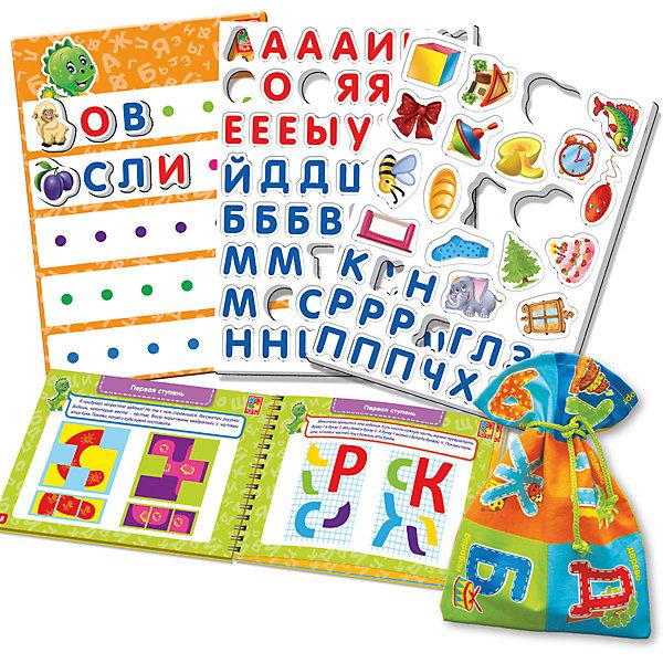Настольная игра Больше чем Азбука, Vladi ToysОкружающий мир<br>Характеристики:<br><br>• Вид игр: обучающие, развивающие<br>• Серия: Настольные игры<br>• Пол: универсальный<br>• Материал: картон, пластик, текстиль, магнит<br>• Цвет: голубой, красный, оранжевый, зеленый, желтый и др.<br>• Комплектация: магнитная доска, декоративные наклейки, 73 магнитные буквы, 19 магнитных картинок, игровой кубик, методическое пособие с заданиями, текстильный мешочек<br>• Размеры упаковки (Д*Ш*В): 39,5*7,5*30 см<br>• Тип упаковки: картонный чемоданчик<br>• Вес в упаковке: 950 г<br>• Предусмотрено несколько вариантов игр<br>• Возможность вариации заданий по сложности <br><br><br>Настольная игра Больше чем Азбука, Vladi Toys, производителем которых является компания, специализирующаяся на выпуске развивающих игр, давно уже стали популярными среди аналогичной продукции. Развивающие настольные игры являются эффективным способом развития и обучения ребенка. Игра Больше чем Азбука отличается комплексным подходом к подготовке ребенка к школе: в ней предусмотрены игры и задания разного уровня сложности. Все элементы отличаются яркостью красок и наглядностью. Все используемые в производстве материалы являются экологически безопасными, не вызывают аллергии, не имеют запаха. Набор состоит из магнитной доски, набора из 73 букв с мешочком для их хранения, декоративных наклеек и 19 магнитных картинок. В комплекте предусмотрено пособие с разноуровневыми заданиями с главным героем динозавриком Тимой.<br>Занятия с настольной игрой Больше чем Азбука, Vladi Toys позволят в легкой игровой форме выучить буквы и звуки, составлять слова и предложения, развивать воображение и обогатить словарный запас ребенка.<br><br>Настольную игру Больше чем Азбука, Vladi Toys можно купить в нашем интернет-магазине.<br><br>Ширина мм: 395<br>Глубина мм: 70<br>Высота мм: 300<br>Вес г: 950<br>Возраст от месяцев: 24<br>Возраст до месяцев: 84<br>Пол: Унисекс<br>Возраст: Детский<br>SKU: 5136104
