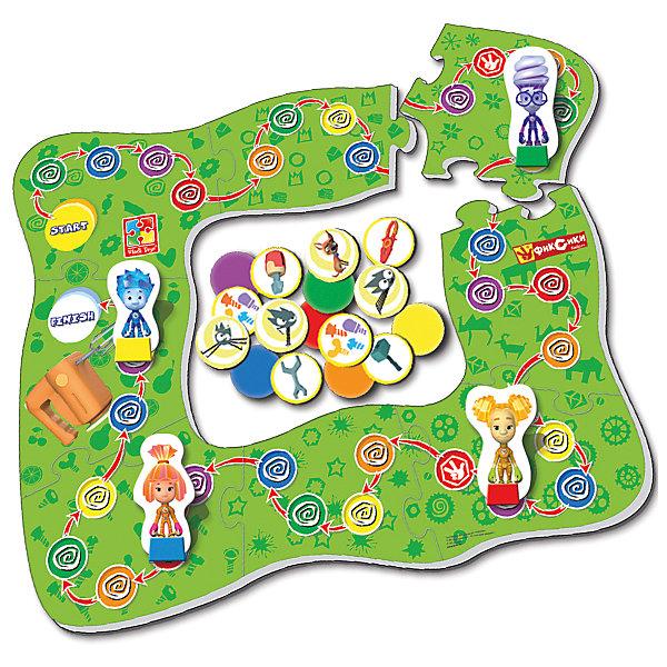 Настольная игра-ходилка Миксер, Фиксики, Vladi ToysПопулярные игрушки<br>Характеристики:<br><br>• Вид игр: обучающие, развивающие<br>• Серия: настольные игры<br>• Пол: универсальный<br>• Материал: картон<br>• Цвет: зеленый, синий, красный, желтый и др.<br>• Комплектация: игровое поле, фишки, игральный кубик, инструкция с правилами игры<br>• Размеры упаковки (Д*Ш*В): 28*5*25 см<br>• Тип упаковки: картонная коробка<br>• Вес в упаковке: 475 г<br><br>Настольная игра-ходилка Миксер, Фиксики, Vladi Toys, производителем которых является компания, специализирующаяся на выпуске развивающих игр, давно уже стали популярными среди аналогичной продукции. Развивающие настольные игры являются эффективным способом развития и обучения ребенка. При производстве настольных игр от Vladi Toys используются только экологически безопасные материалы, которые не вызывают аллергии и не имеют запаха. Набор состоит из большого игрового поля с изображением персонажей сериала Фиксики. Цель игры заключается в том, чтобы собрать как можно раньше других игроков инструменты для ремонта миксера и добраться до финиша. Сложность заключается в том, что на пути возникают различные препятствия, которые необходимо преодолеть. Все игровые элементы набора отличаются яркостью красок и наглядностью. <br>Настольная игра-ходилка Миксер, Фиксики, Vladi Toys позволит организовать веселый и полезный досуг вашего ребенка, научит внимательности и логическому мышлению.<br><br>Настольную игру-ходилку Миксер, Фиксики, Vladi Toys можно купить в нашем интернет-магазине.<br>Ширина мм: 280; Глубина мм: 50; Высота мм: 250; Вес г: 475; Возраст от месяцев: 24; Возраст до месяцев: 84; Пол: Унисекс; Возраст: Детский; SKU: 5136125;