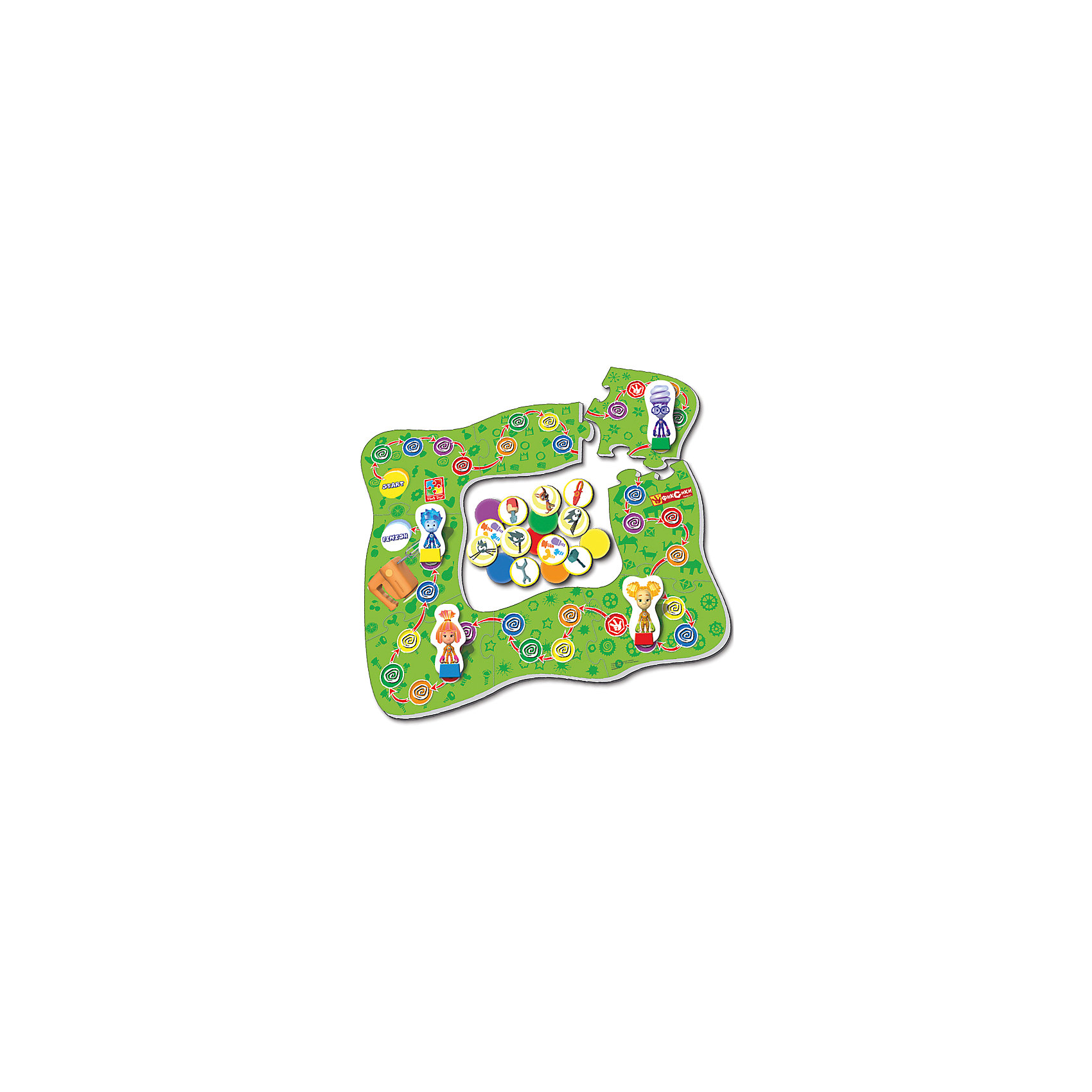 Vladi Toys Настольная игра-ходилка Миксер, Фиксики, Vladi Toys настольные игры vladi toys игра на скорость сковородки