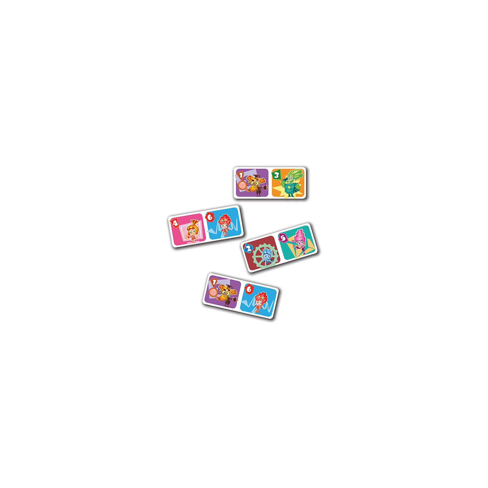 Настольная игра Домино, Фиксики, Vladi ToysДомино<br>Характеристики:<br><br>• Вид игр: обучающие, развивающие<br>• Серия: настольные игры<br>• Пол: универсальный<br>• Материал: картон<br>• Цвет: оранжевый, голубой, розовый, желтый и др.<br>• Комплектация: элементы домино, инструкция с правилами игры<br>• Размеры упаковки (Д*Ш*В): 19,5*3,5*24 см<br>• Тип упаковки: картонная коробка<br>• Вес в упаковке: 240 г<br><br>Настольная игра Домино, Фиксики, Vladi Toys, производителем которых является компания, специализирующаяся на выпуске развивающих игр, давно уже стали популярными среди аналогичной продукции. Развивающие настольные игры являются эффективным способом развития и обучения ребенка. При производстве настольных игр от Vladi Toys используются только экологически безопасные материалы, которые не вызывают аллергии и не имеют запаха. Набор состоит из фишек-домино с изображением персонажей сериала Фиксики. Все игровые элементы набора отличаются яркостью красок и наглядностью. <br>Настольная игра Домино, Фиксики, Vladi Toys позволит организовать веселый и полезный досуг вашего ребенка, научит внимательности и логическому мышлению, а также будет способствовать развитию памяти.<br><br>Настольную игру Домино, Фиксики, Vladi Toys можно купить в нашем интернет-магазине.<br><br>Ширина мм: 195<br>Глубина мм: 35<br>Высота мм: 240<br>Вес г: 240<br>Возраст от месяцев: 24<br>Возраст до месяцев: 84<br>Пол: Унисекс<br>Возраст: Детский<br>SKU: 5136126