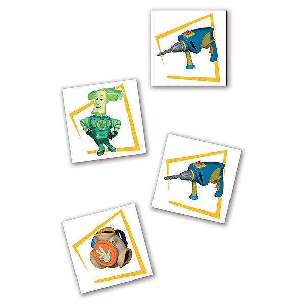 Настольная игра Мемо, Фиксики, Vladi ToysОкружающий мир<br>Характеристики:<br><br>• Вид игр: обучающие, развивающие<br>• Серия: настольные игры<br>• Пол: универсальный<br>• Материал: картон<br>• Цвет: оранжевый, голубой, розовый, желтый и др.<br>• Комплектация: карточки, инструкция с правилами игры<br>• Размеры упаковки (Д*Ш*В): 19,5*3,5*24 см<br>• Тип упаковки: картонная коробка<br>• Вес в упаковке: 240 г<br><br>Настольная игра Мемо, Фиксики, Vladi Toys, производителем которых является компания, специализирующаяся на выпуске развивающих игр, давно уже стали популярными среди аналогичной продукции. Развивающие настольные игры являются эффективным способом развития и обучения ребенка. При производстве настольных игр от Vladi Toys используются только экологически безопасные материалы, которые не вызывают аллергии и не имеют запаха. Набор состоит из карточек с изображением персонажей и предметов из сериала Фиксики. Цель игры заключается в том, чтобы собрать как можно больше парных карточек. Все игровые элементы набора отличаются яркостью красок и наглядностью. <br>Настольная игра Мемо, Фиксики, Vladi Toys позволит организовать веселый и полезный досуг вашего ребенка, научит внимательности и логическому мышлению, а также будет способствовать развитию памяти.<br><br>Настольную игру Мемо, Фиксики, Vladi Toys можно купить в нашем интернет-магазине.<br><br>Ширина мм: 195<br>Глубина мм: 35<br>Высота мм: 240<br>Вес г: 195<br>Возраст от месяцев: 24<br>Возраст до месяцев: 84<br>Пол: Унисекс<br>Возраст: Детский<br>SKU: 5136127