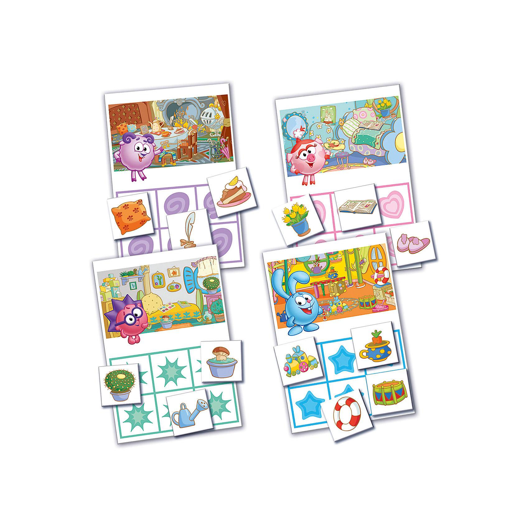 Vladi Toys Настольная игра Лото, Смешарики, Vladi Toys кроссовки лото купить в донецке
