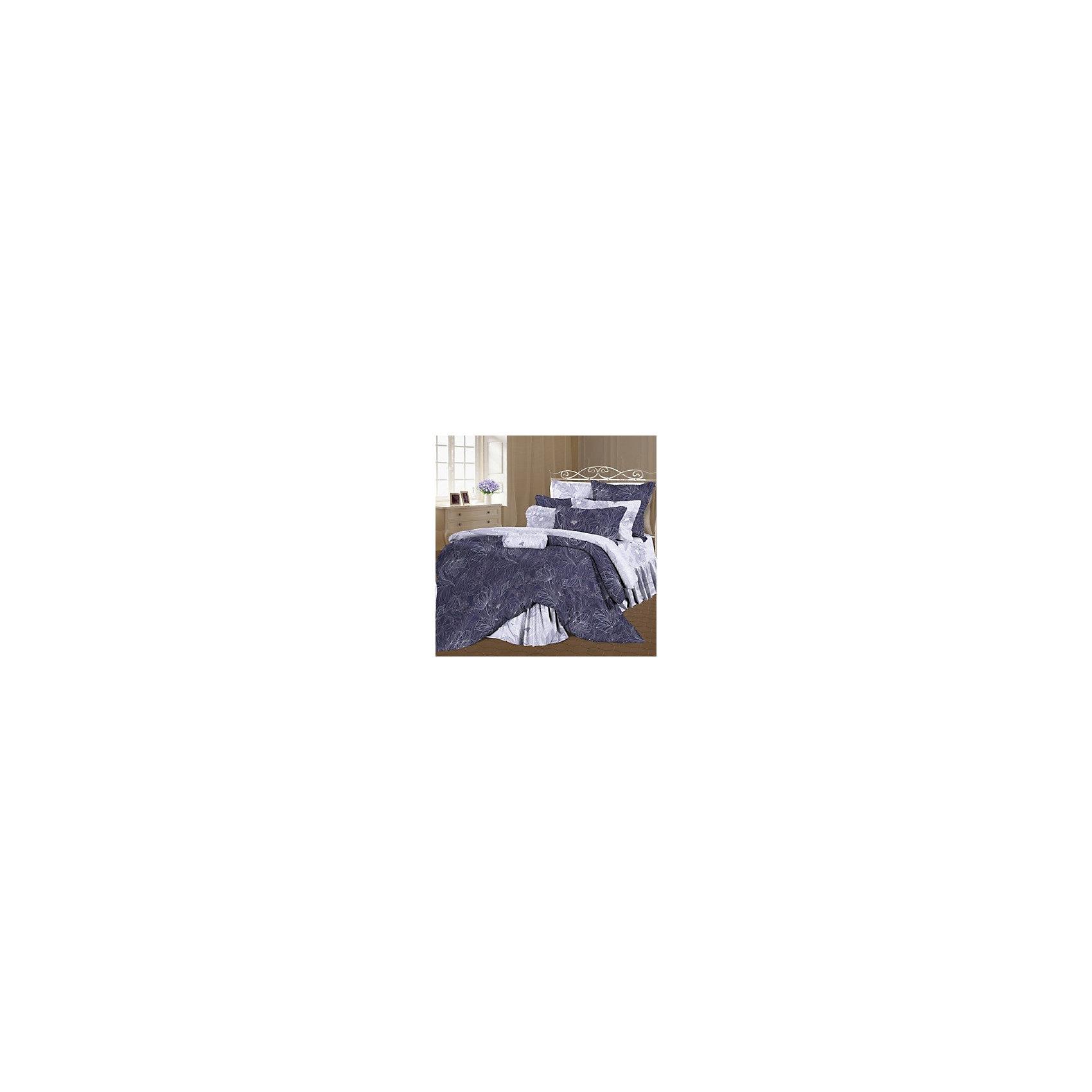 Постельное белье 1,5 Консуэло перкаль, РомантикаДомашний текстиль<br>Характеристики товара:<br><br>• материал: хлопок;<br>• пододеяльник 215х145 см<br>• простыня 220х150 см<br>• 2 наволочки 70х70 см;<br>• размер упаковки 50х50х15 см;<br>• вес упаковки 1,4 кг;<br>• страна производитель: Россия.<br><br>Постельное белье 1,5-спальное «Консуэлло» перкаль Романтика обеспечит уютный и спокойный сон. Комплект изготовлен из мягкого перкаля — хлопчатобумажной ткани особой прочности и износостойкости, приятной на ощупь. Она не вызывает аллергических реакций, не линяет и не теряет цвет после стирки.<br><br>Постельное белье 1,5-спальное «Консуэлло» перкаль Романтика можно приобрести в нашем интернет-магазине.<br><br>Ширина мм: 500<br>Глубина мм: 500<br>Высота мм: 150<br>Вес г: 1405<br>Возраст от месяцев: 36<br>Возраст до месяцев: 216<br>Пол: Унисекс<br>Возраст: Детский<br>SKU: 5136353