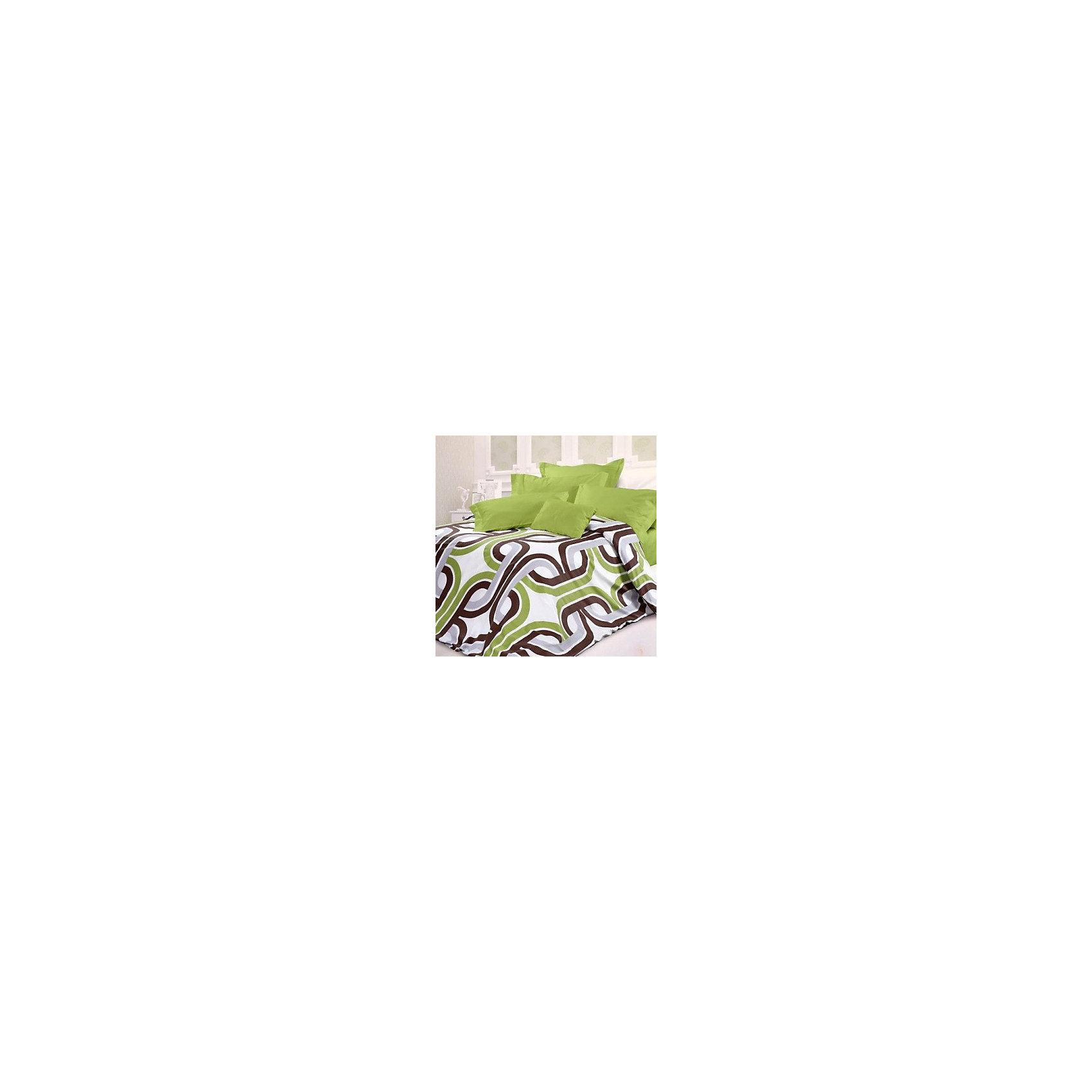 Унисон Постельное белье 1,5 Антуан сатин, Унисон