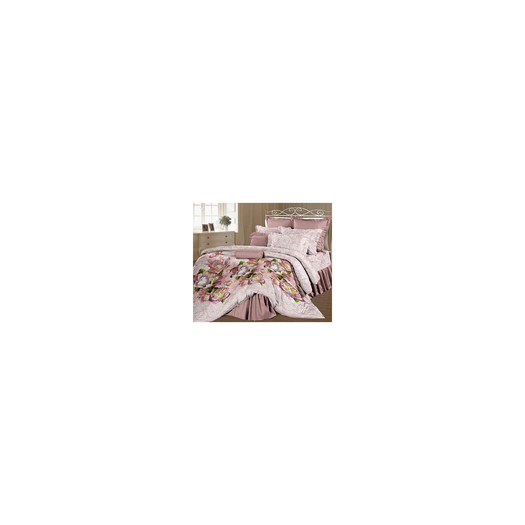 Романтика Постельное белье Семейный Корнелия, перкаль, Романтика комплект семейный романтика баттерфляй