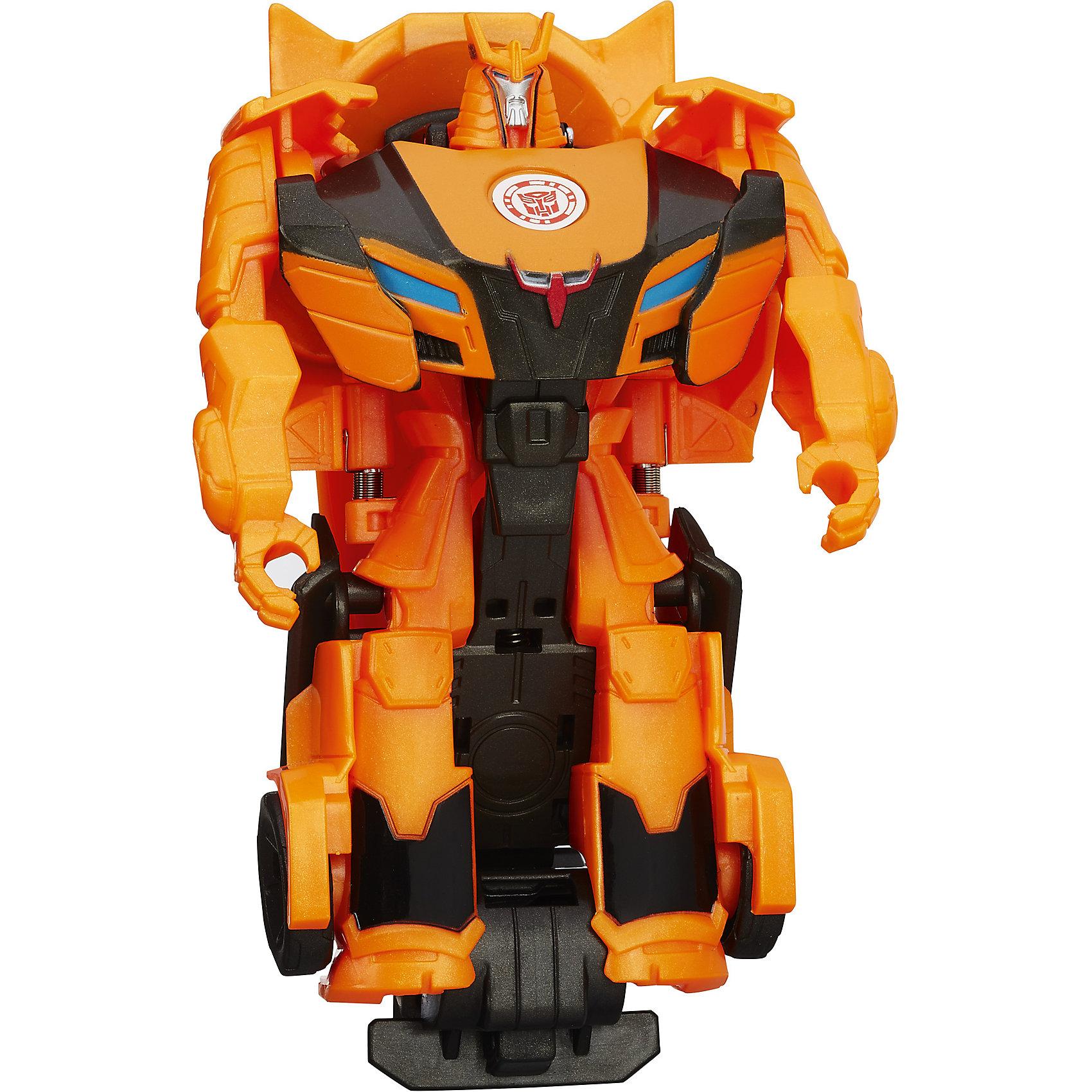 Hasbro Трансформеры Роботс-ин-Дисгайс Уан-Стэп, B0068/B1730 оружие игрушечное hasbro nerf бластер зомби слингфайр