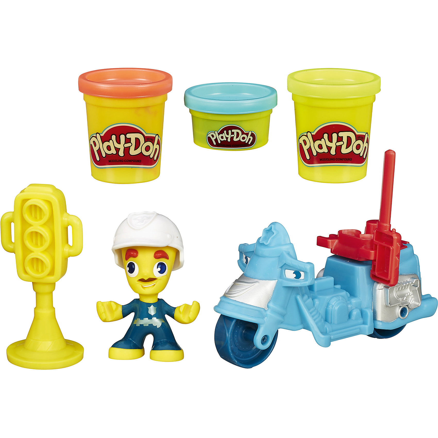 Hasbro Игровой набор Транспортные средства, Play-Doh Город, B5959/B5975 hasbro игровой набор магазинчик домашних питомцев play doh город