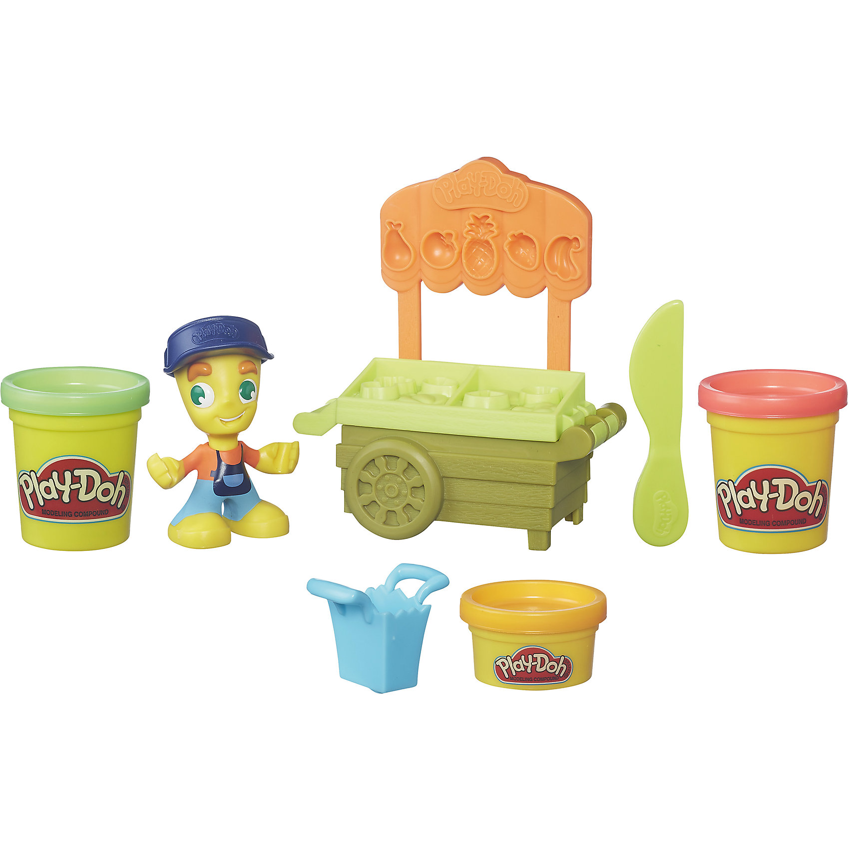 Hasbro Игровой набор Транспортные средства, Play-Doh Город, B5959/B5977 наборы для лепки play doh игровой набор сумасшедшие прически