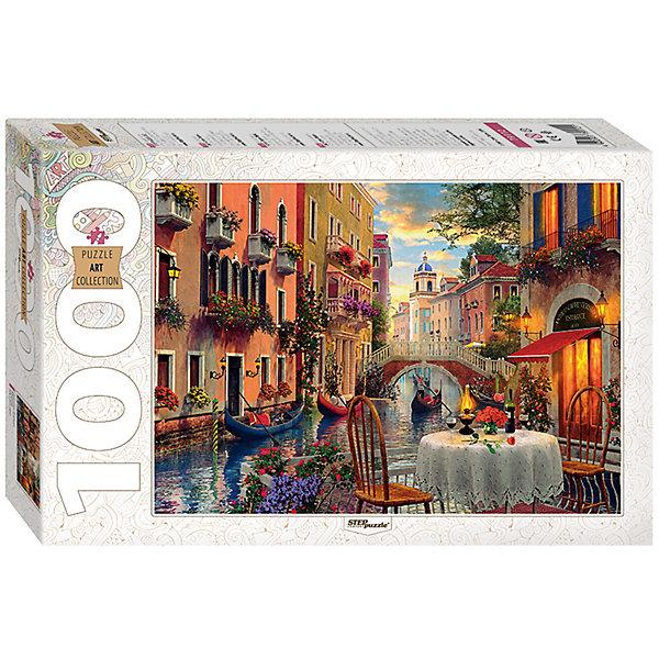 Пазл Доминик Дэвисон. Венеция, 1000 деталей, Step PuzzleПазлы классические<br>Характеристики товара:<br><br>- цвет: разноцветный;<br>- материал: картон;<br>- деталей: 1000;<br>- высокая точность подгонки элементов;<br>- отличное качество печати;<br>- упаковка: коробка.<br><br>Собирать пазлы любят и дети, и взрослые! Это занятие может не только позволять весело проводить время, но и помогать всестороннему развитию ребенка. Изделие представляет собой детали, из которых нужно собрать очень красивую картинку. Все детали отлично проработаны, готовое изображение можно даже зафиксировать на бумаге и украсить им интерьер!<br>Собирание пазлов поможет формированию разных навыков, оно помогает развить тактильное восприятие, мелкую моторику, воображение, внимание и логику. Изделие произведено из качественных материалов, безопасных для ребенка. Набор станет отличным подарком детям!<br><br>Пазл Доминик Дэвисон. Венеция, 1000 деталей, от бренда Step Puzzle можно купить в нашем интернет-магазине.<br>Ширина мм: 400; Глубина мм: 270; Высота мм: 55; Вес г: 780; Возраст от месяцев: 84; Возраст до месяцев: 180; Пол: Унисекс; Возраст: Детский; SKU: 5138170;