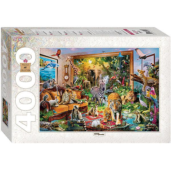 Пазл Ожившая сказка, 4000 деталей, Step PuzzleПазлы классические<br>Характеристики товара:<br><br>- цвет: разноцветный;<br>- материал: картон;<br>- деталей: 4000;<br>- высокая точность подгонки элементов;<br>- отличное качество печати;<br>- упаковка: коробка.<br><br>Собирать пазлы любят и дети, и взрослые! Это занятие может не только позволять весело проводить время, но и помогать всестороннему развитию ребенка. Изделие представляет собой детали, из которых нужно собрать очень красивую картинку. Все детали отлично проработаны, готовое изображение можно даже зафиксировать на бумаге и украсить им интерьер!<br>Собирание пазлов поможет формированию разных навыков, оно помогает развить тактильное восприятие, мелкую моторику, воображение, внимание и логику. Изделие произведено из качественных материалов, безопасных для ребенка. Набор станет отличным подарком детям!<br><br>Пазл Ожившая сказка, 4000 деталей, от бренда Step Puzzle можно купить в нашем интернет-магазине.<br>Ширина мм: 400; Глубина мм: 270; Высота мм: 85; Вес г: 2000; Возраст от месяцев: 84; Возраст до месяцев: 180; Пол: Унисекс; Возраст: Детский; SKU: 5138187;
