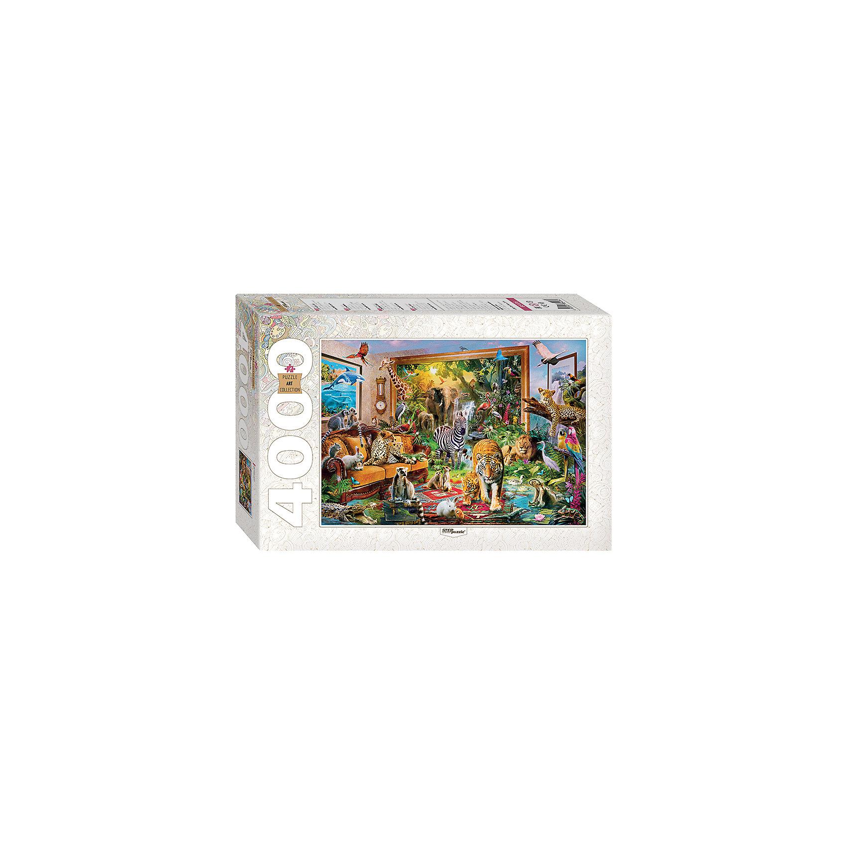 Пазл Ожившая сказка, 4000 деталей, Step PuzzleКоличество деталей<br>Характеристики товара:<br><br>- цвет: разноцветный;<br>- материал: картон;<br>- деталей: 4000;<br>- высокая точность подгонки элементов;<br>- отличное качество печати;<br>- упаковка: коробка.<br><br>Собирать пазлы любят и дети, и взрослые! Это занятие может не только позволять весело проводить время, но и помогать всестороннему развитию ребенка. Изделие представляет собой детали, из которых нужно собрать очень красивую картинку. Все детали отлично проработаны, готовое изображение можно даже зафиксировать на бумаге и украсить им интерьер!<br>Собирание пазлов поможет формированию разных навыков, оно помогает развить тактильное восприятие, мелкую моторику, воображение, внимание и логику. Изделие произведено из качественных материалов, безопасных для ребенка. Набор станет отличным подарком детям!<br><br>Пазл Ожившая сказка, 4000 деталей, от бренда Step Puzzle можно купить в нашем интернет-магазине.<br><br>Ширина мм: 400<br>Глубина мм: 270<br>Высота мм: 85<br>Вес г: 2000<br>Возраст от месяцев: 84<br>Возраст до месяцев: 180<br>Пол: Унисекс<br>Возраст: Детский<br>SKU: 5138187