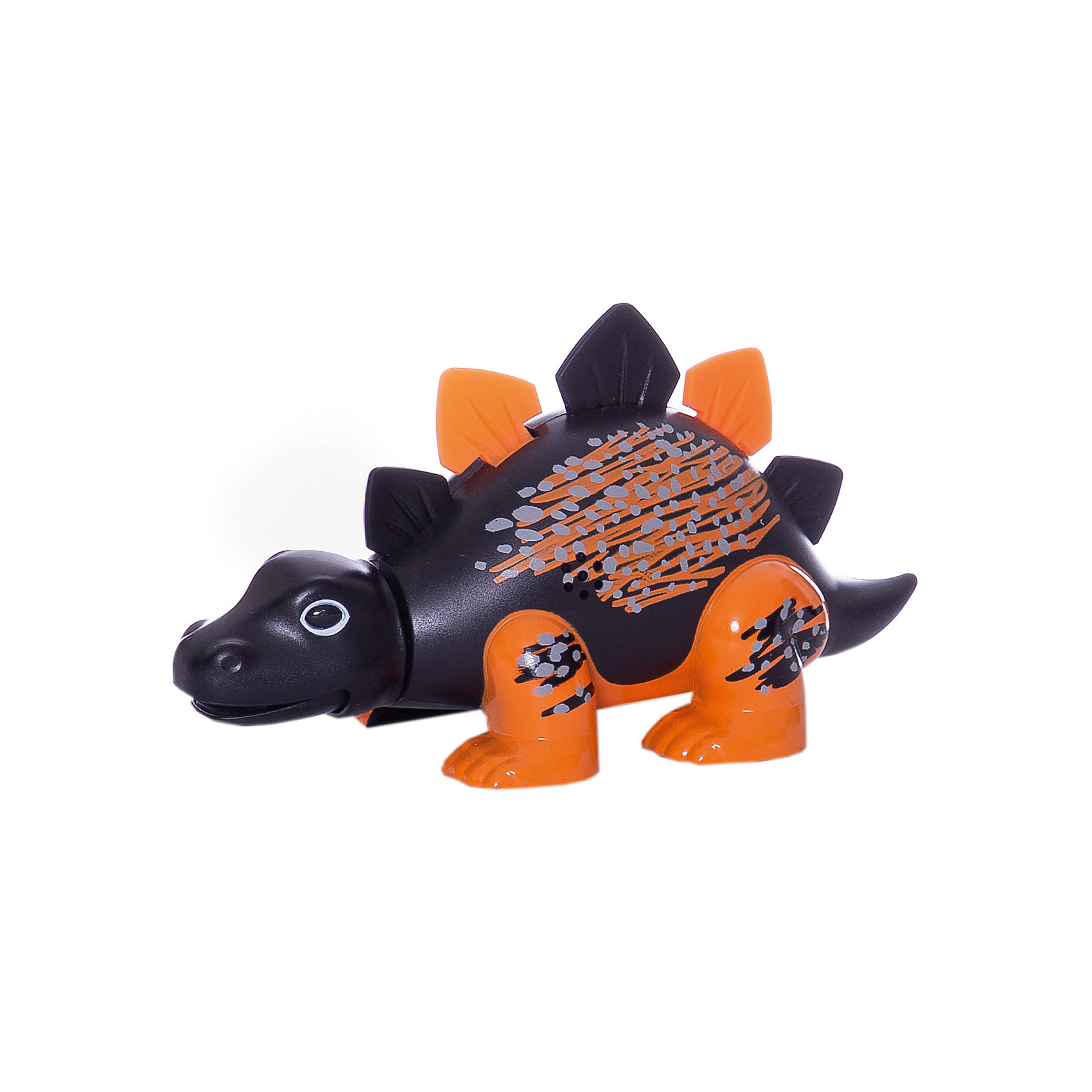 Динозавр Skye, черный с оранжевыми лапами, DigiBirdsХарактеристики товара:<br><br>- цвет: черный с оранжевыми лапами;<br>- материал: пластик, металл;<br>- батарейки: 3xAG13/LR44, в комплекте;<br>- размер упаковки: 16x13x7 см;<br>- габариты игрушки: 6,5x10x15 см;<br>- умеет петь, рычать, шевелить головой и хвостом.<br><br>Такая игрушка в виде динозавра поможет ребенку весело проводить время - динозавр умеет петь, рычать, шевелить головой и хвостом. Это выглядит очень забавно! Игрушка реагирует на звук от специального свистка, который входит в комплект. Также можно приобрести другие игрушки из этой серии - тогда они будут петь хором!<br>Динозавр способен помогать всестороннему развитию ребенка: развивать тактильное восприятие, мелкую моторику, воображение, внимание и логику. Изделие произведено из качественных материалов, безопасных для ребенка. Набор станет отличным подарком детям!<br><br>Динозавр Skye, черный с оранжевыми лапами, от бренда DigiBirds можно купить в нашем интернет-магазине.<br><br>Ширина мм: 115<br>Глубина мм: 15<br>Высота мм: 62<br>Вес г: 128<br>Возраст от месяцев: 36<br>Возраст до месяцев: 84<br>Пол: Унисекс<br>Возраст: Детский<br>SKU: 5138202