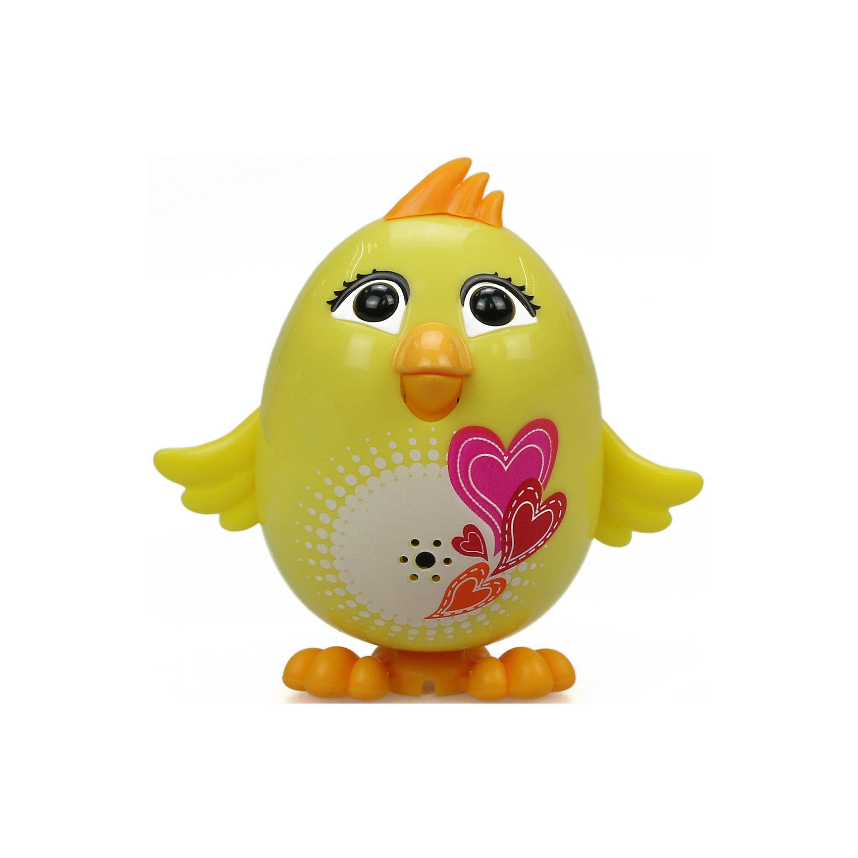 Цыпленок с кольцом Mila, желтый, DigiBirds