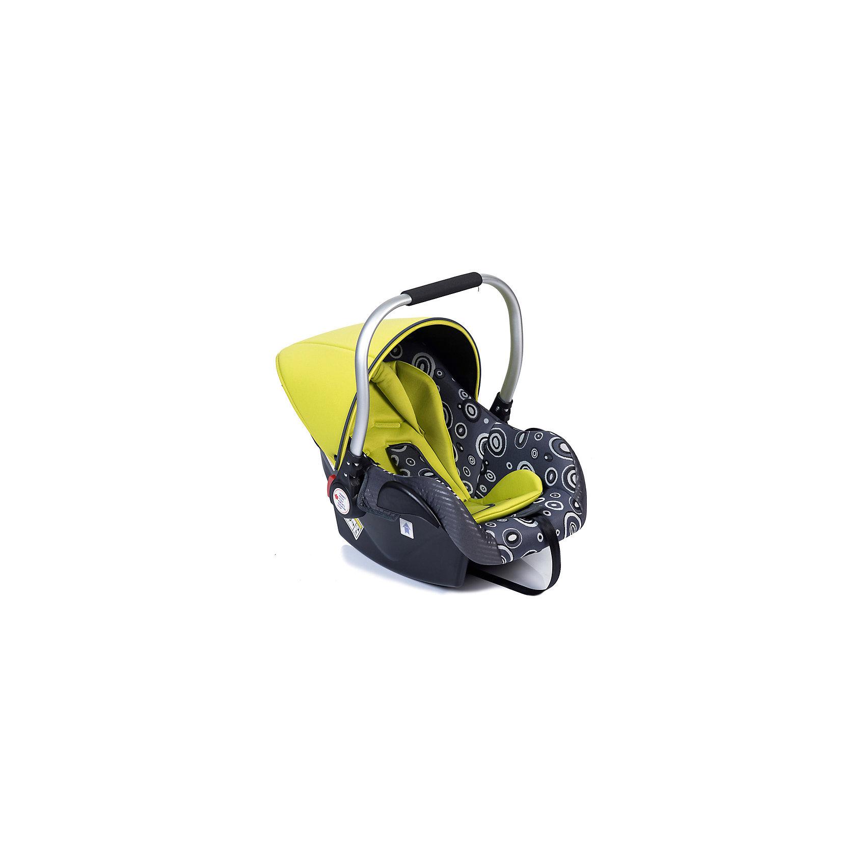 Baby Hit Автокресло PRIMARY, 0-13 кг., Babyhit, зеленый/серый группа 0 0 от 0 до 13 кг happy baby skyler