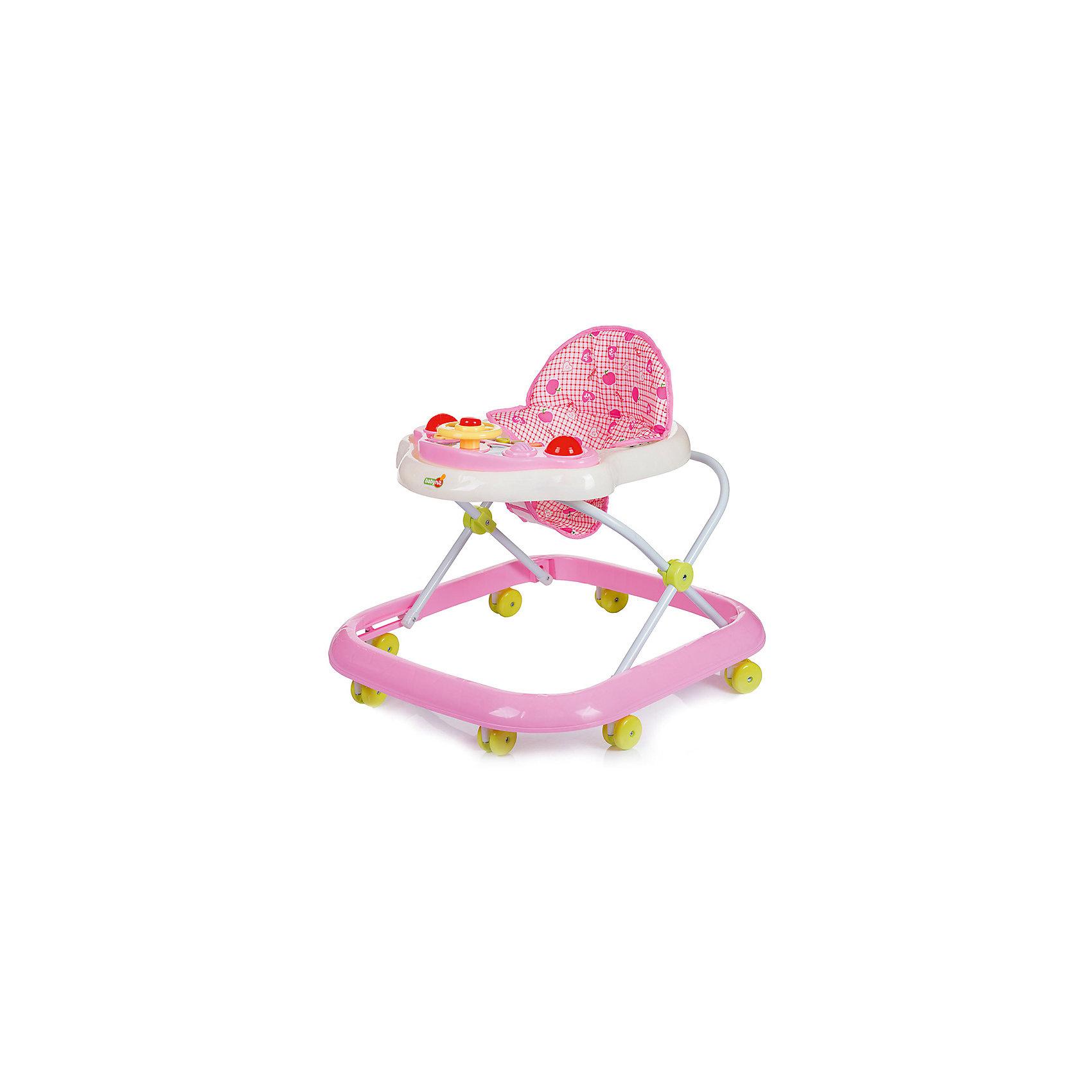 Ходунки ACTION, Babyhit, розовый
