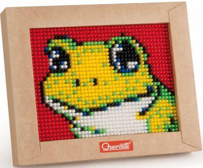 Пиксельная мозаика Лягушонок , 1200 деталей, Quercetti