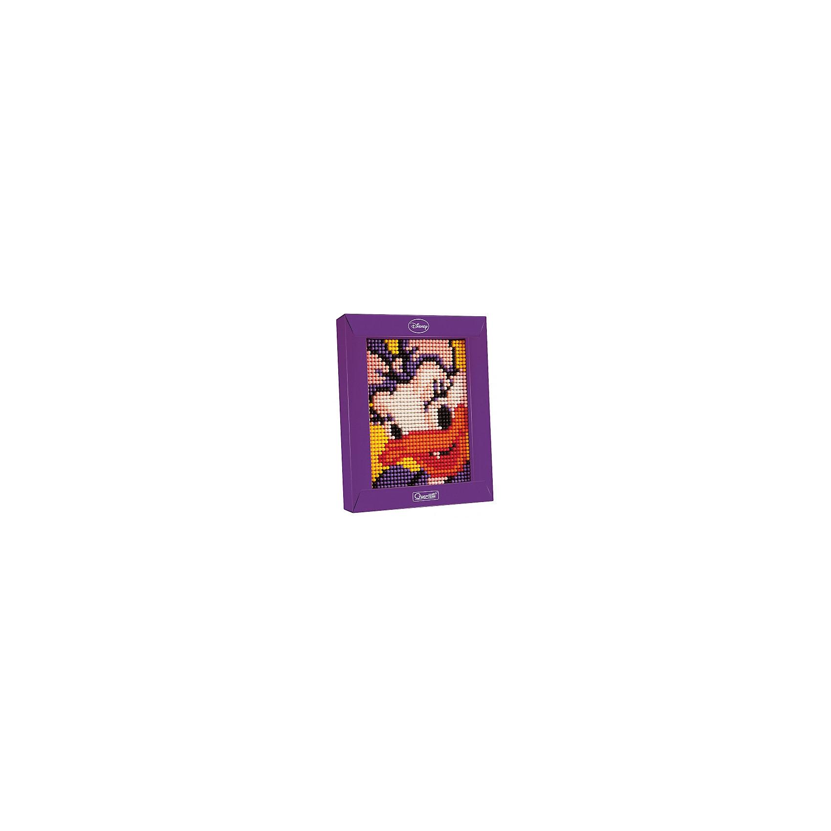 Пиксельная мозаика Дэйзи, 1200 деталей, QuercettiМозаика<br>Пиксельная мозаика Дэйзи, 1200 деталей, Quercetti (Кверсетти).<br><br>Характеристики:<br><br>- В наборе: 1200 деталей 7-ти цветов, основа (наборная доска), картонная рамка, направляющий лист, плакат, инструкция<br>- Размер основы: 12 х 16,5 см.<br>- Размер рамки: 16,5 х 21 х 3,2 см.<br>- Цвета: белый, желтый, оранжевый, красный, розовый, сиреневый, черный<br>- Материал: безопасный пластик, окрашенный нетоксичными красками<br>- Упаковка: картонная коробка<br>- Размер упаковки: 17 х 22 х 4 см.<br><br>Пиксельная мозаика от Quercetti (Кверсетти) поможет вашему малышу из 1200 деталей создать портрет очаровательной Дэйзи Дак. Нужно просто положить цветную схему на основу и можно начинать собирать мозаику! Рисунок на листе разделен на маленькие квадратики. Ребенку нужно выбрать подходящие по цвету детали-гвоздики и вставить их в отверстия. Кончики элементов легко проходят сквозь бумагу и надежно фиксируются в основе. В итоге они ложатся ровными рядами, а разноцветные шляпки сливаются в единое цветовое полотно, и если смотреть на собранную картинку с расстояния, изображение чудесным образом преобразится, повторяя эффект фотографии. Готовую картинку можно вставить в картонную рамочку и повесить на стену, как настоящую картину. Собирание мозаики развивает у детей цветовосприятие, творческие способности, внимание, усидчивость и мелкую моторику.<br><br>Пиксельную мозаику Дэйзи, 1200 деталей, Quercetti (Кверсетти) можно купить в нашем интернет-магазине.<br><br>Ширина мм: 220<br>Глубина мм: 36<br>Высота мм: 170<br>Вес г: 298<br>Возраст от месяцев: 60<br>Возраст до месяцев: 2147483647<br>Пол: Унисекс<br>Возраст: Детский<br>SKU: 5140054