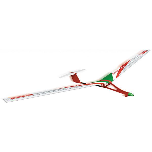 """Конструктор """"Самолет Про-Крыло"""", QuercettiПластмассовые конструкторы<br>Конструктор """"Самолет Про-Крыло"""", Quercetti (Кверсетти).<br><br>Характеристики:<br><br>- В наборе: корпус самолета, два крыла, привод, стабилизатор, инструкция<br>- Размах крыльев: 60 см.<br>- Материал: высококачественный пластик<br>- Упаковка: картонная коробка<br>- Размер упаковки: 39 х 22 х 2 см.<br>- Вес: 130 гр.<br><br>Конструктор «Самолет Про-Крыло» от итальянского производителя Quercetti (Кверсетти) позволит вашему ребенку собрать удивительно изящную и красивую модель самолета, повторяющую дизайн реального самолета-планера. Модель может быть собрана вашим ребенком самостоятельно, в несколько простых шагов. Готовый планер обладает высокими аэродинамическими свойствами, он легкий с тонкими крыльями, снижающими сопротивление воздушным потокам. Самолет запускается вручную на открытых пространствах. Благодаря малому весу, он может полететь достаточно далеко, прежде чем приземлиться. Элементы конструктора изготовлены из безопасного качественного пластика, окрашены нетоксичными гипоаллергенными красками. Пластиковые детали изделия можно мыть. Игрушка поможет ребенку развить логическое мышление, мелкую моторику рук, творческие способности.<br><br>Конструктор """"Самолет Про-Крыло"""", Quercetti (Кверсетти) можно купить в нашем интернет-магазине.<br>Ширина мм: 220; Глубина мм: 36; Высота мм: 170; Вес г: 133; Возраст от месяцев: 72; Возраст до месяцев: 2147483647; Пол: Мужской; Возраст: Детский; SKU: 5140066;"""