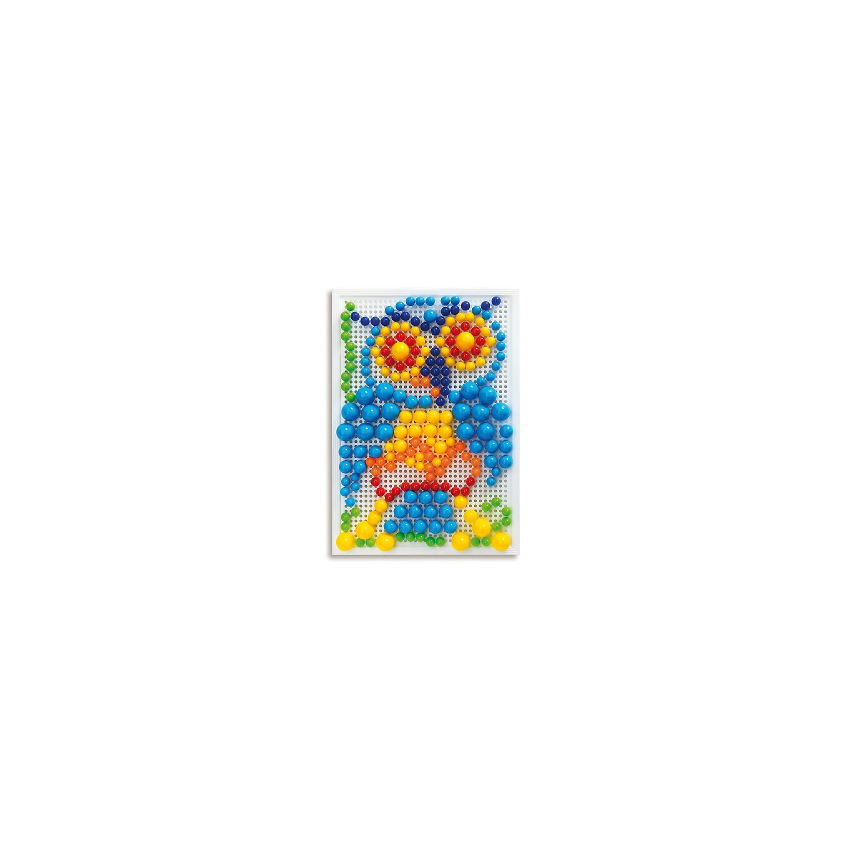 Мозайка Фантастические цвета, 280 деталей, QuercettiМозаика<br>Мозайка Фантастические цвета, 280 деталей, Quercetti (Кверсетти).<br><br>Характеристики:<br><br>- В наборе: 280 деталей-пуговиц 3-х различных размеров (диаметр - 10, 15, 20 мм), чемоданчик для хранения, основа – игровое поле, инструкция<br>- Размер игрового поля: 28 х 20 см.<br>- Цвета: красный, оранжевый, желтый, зеленый, голубой, синий<br>- Материал: безопасный пластик, окрашенный нетоксичными красками<br>- Упаковка: картонная коробка<br>- Размер упаковки: 32 х 24 х 6 см.<br>- Вес: 700 гр.<br><br>Мозаика Фантастические цвета приведет в восторг вашего ребенка и не позволит ему скучать. Комбинируя яркие разноцветные детали разного диаметра, ребенок может собирать на игровом поле изображения из инструкции или придумывать картинки сам. Мозаику легко взять с собой куда угодно, поскольку она упакована в удобный чемоданчик-планшет. Его крышка – это игровое поле с множеством дырочек. За специальную ручку чемоданчик можно легко переносить с места на место, игровое поле при этом фиксируется замочком. Детали мозаики изготовлены из прочного гладкого пластика с глянцевой поверхностью, а игровое поле – из мягкого и гибкого пластика. Собирание мозаики развивает у детей цветовосприятие, творческие способности, внимание, усидчивость и мелкую моторику.<br><br>Мозайку Фантастические цвета, 280 деталей, Quercetti (Кверсетти) можно купить в нашем интернет-магазине.<br><br>Ширина мм: 320<br>Глубина мм: 60<br>Высота мм: 240<br>Вес г: 693<br>Возраст от месяцев: 48<br>Возраст до месяцев: 2147483647<br>Пол: Унисекс<br>Возраст: Детский<br>SKU: 5140078