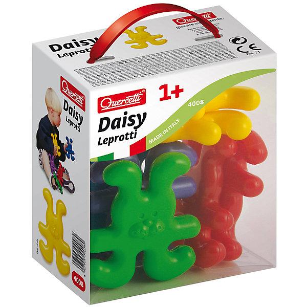 Конструктор Зайчики, 8 деталей, QuercettiПластмассовые конструкторы<br>Конструктор Зайчики, 8 деталей, Quercetti (Кверсетти).<br><br>Характеристики:<br><br>- В наборе: 8 фигурок зайчиков 4-х различных цветов<br>- Материал: высококачественный пластик, окрашенный нетоксичными красками<br>- Упаковка: картонная коробка с ручкой<br>- Размер упаковки: 14 х 16 х 9 см.<br>- Вес: 200 гр.<br><br>Конструктор Зайчики от Quercetti (Кверсетти) принесет множество позитивный эмоций вашему малышу. Яркие цветные детали в виде улыбающихся зайчиков привлекут внимание ребенка, а легкий вес позволит играть с ними очень долго. Все детали соединяются между собой при помощи универсальных креплений, позволяя малышу построить свою собственную конструкцию или цепочку. С помощью этого простейшего конструктора ваш малыш научится не только соединять детали, но и сортировать их по цвету. Удобные крупные детали безопасны для малышей и легко моются. Конструктор «Зайчики» идеально подходит для развития мелкой моторики рук, тактильных ощущений и цветовосприятия, укрепляет и развивает координацию движений.<br><br>Конструктор Зайчики, 8 деталей, Quercetti (Кверсетти) можно купить в нашем интернет-магазине.<br><br>Ширина мм: 140<br>Глубина мм: 90<br>Высота мм: 160<br>Вес г: 183<br>Возраст от месяцев: 12<br>Возраст до месяцев: 2147483647<br>Пол: Унисекс<br>Возраст: Детский<br>SKU: 5140083