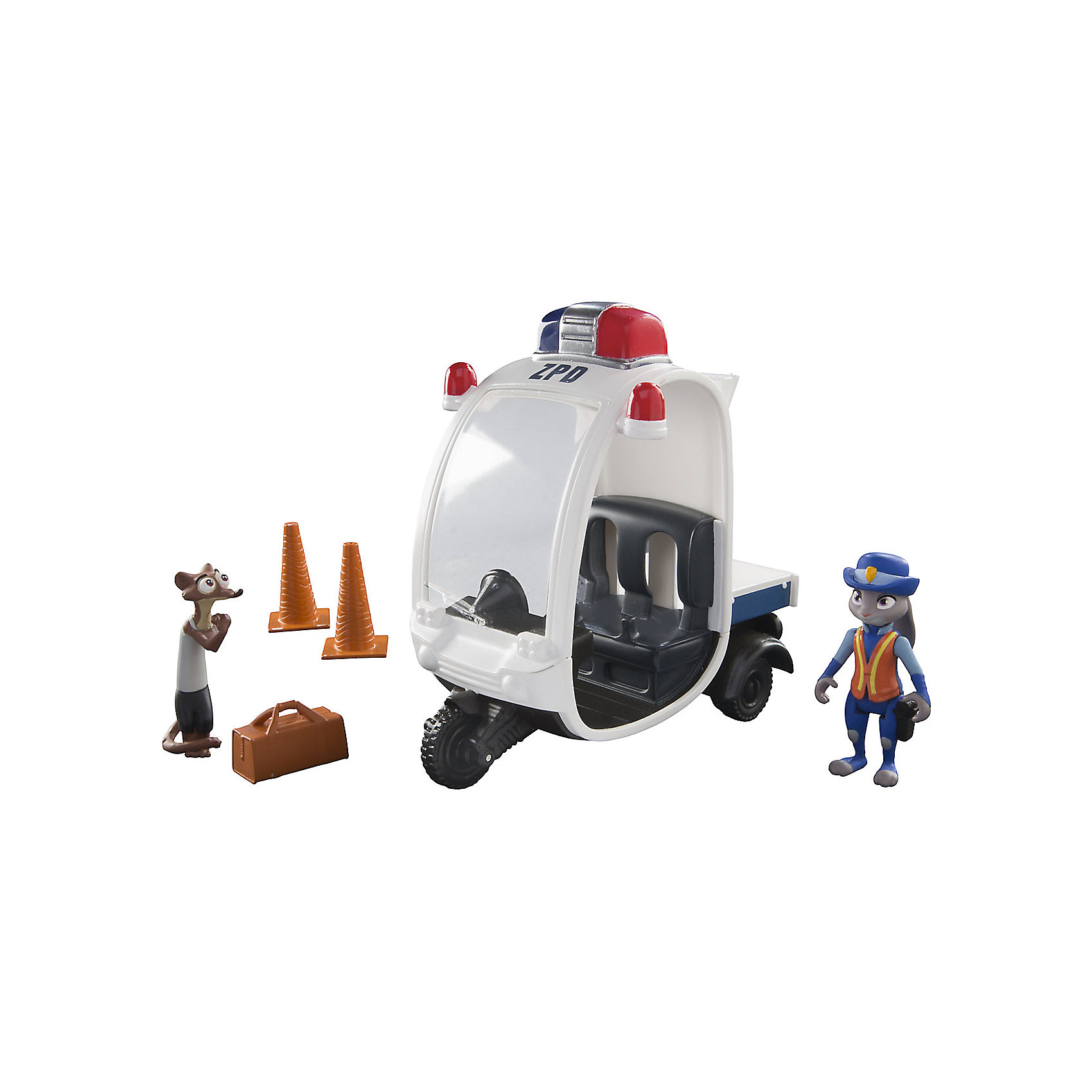 Игровой набор Полицейский мотороллер, ЗверополисФигурки из мультфильмов<br>Характеристики товара:<br><br>- цвет: разноцветный;<br>- материал: пластик;<br>- размер упаковки: 23х23х10 см;<br>- возраст: от 3 лет;<br>- комплектация: транспорт, фигурка героя, аксессуары;<br>- упаковка: картонная коробка открытого типа.<br><br>Играть с фигурками из любимого мультфильма - вдвойне интереснее! Фигурки героев из мультфильма Зверополис- очень красивые, они хорошо детализированы. Каждая фигурка отлично выполнена, похожа на героя мультика, поэтому она станет желанным подарком для ребенка. Каждый герой дополнен своим транспортным средством. Такая игрушка отлично тренирует у ребенка разные навыки: играя с фигурками, ребенок развивает мелкую моторику, цветовосприятие, внимание, воображение и творческое мышление. <br>Из этих фигурок можно собрать целую коллекцию! Изделие произведено из качественных проверенных материалов, безопасных для малышей.<br><br>Игровой набор Полицейский мотороллер, Зверополис, можно купить в нашем интернет-магазине.<br><br>Ширина мм: 235<br>Глубина мм: 230<br>Высота мм: 105<br>Вес г: 395<br>Возраст от месяцев: 36<br>Возраст до месяцев: 2147483647<br>Пол: Унисекс<br>Возраст: Детский<br>SKU: 5140205