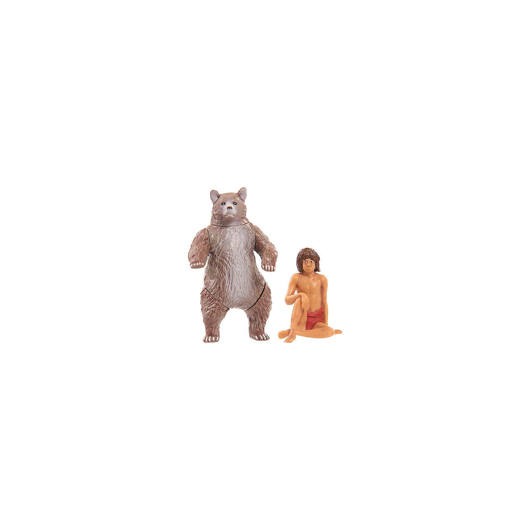 Фигурки Книга Джунглей - Балу и МауглиЛюбимые герои<br>Характеристики товара:<br><br>- цвет: разноцветный;<br>- материал: пластик;<br>- размер упаковки: 20х8х21см;<br>- вес: 230 г;<br>- комплект: 2 фигурки.<br><br>Играть с фигурками из любимого фильма - вдвойне интереснее! Фигурки героев Книги Джунглей очень красивые, они хорошо детализированы. Каждая фигурка отлично выполнена, поэтому она станет желанным подарком для ребенка. Такое изделие отлично тренирует у ребенка разные навыки: играя с фигурками, ребенок развивает мелкую моторику, цветовосприятие, внимание, воображение и творческое мышление. В наборе - 2 фигурки.<br>Из этих фигурок можно собрать целую коллекцию! Изделие произведено из высококачественного материала, безопасного для детей.<br><br>Игрушку Медведь от бренда Jungle Book можно купить в нашем интернет-магазине.<br><br>Ширина мм: 210<br>Глубина мм: 200<br>Высота мм: 80<br>Вес г: 230<br>Возраст от месяцев: 36<br>Возраст до месяцев: 2147483647<br>Пол: Унисекс<br>Возраст: Детский<br>SKU: 5140207