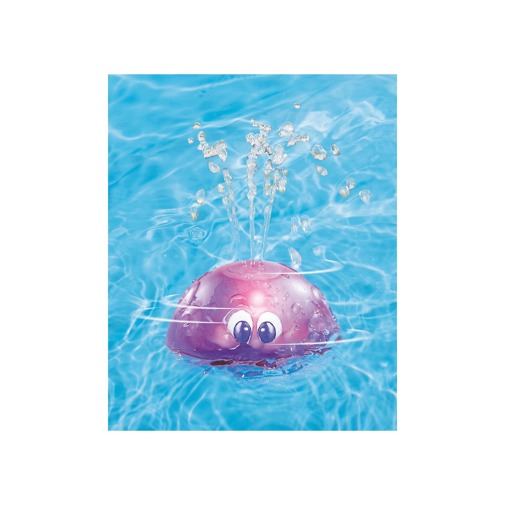 Игрушка для ванны Вращающийся фонтан, Little Tikes, фиолетовыйДинамические игрушки<br>Характеристики товара:<br><br>- цвет: фиолетовый;<br>- материал: пластик;<br>- размер упаковки: 16х11х14 см;<br>- вес: 260 г;<br>- возраст: от 1 года.<br><br>Играть в ванне - вдвойне интереснее! Такие игрушки для ванны подразумевают множество вариантов игр, поэтому она станет желанным подарком для ребенка. Если опустить игрушку в воду и включить - она будет вращаться, заработает подсветка, а сверху будут вырываться струйки воды. Такое изделие отлично тренирует у ребенка разные навыки: оно развивает мелкую моторику, цветовосприятие, внимание, воображение и творческое мышление. <br>Из этих фигурок разного цвета можно собрать целую коллекцию! Изделие произведено из высококачественного материала, безопасного для детей.<br><br>Игрушку для ванны Вращающийся фонтан от бренда Little Tikes можно купить в нашем интернет-магазине.<br><br>Ширина мм: 160<br>Глубина мм: 140<br>Высота мм: 110<br>Вес г: 257<br>Возраст от месяцев: 36<br>Возраст до месяцев: 2147483647<br>Пол: Унисекс<br>Возраст: Детский<br>SKU: 5140210