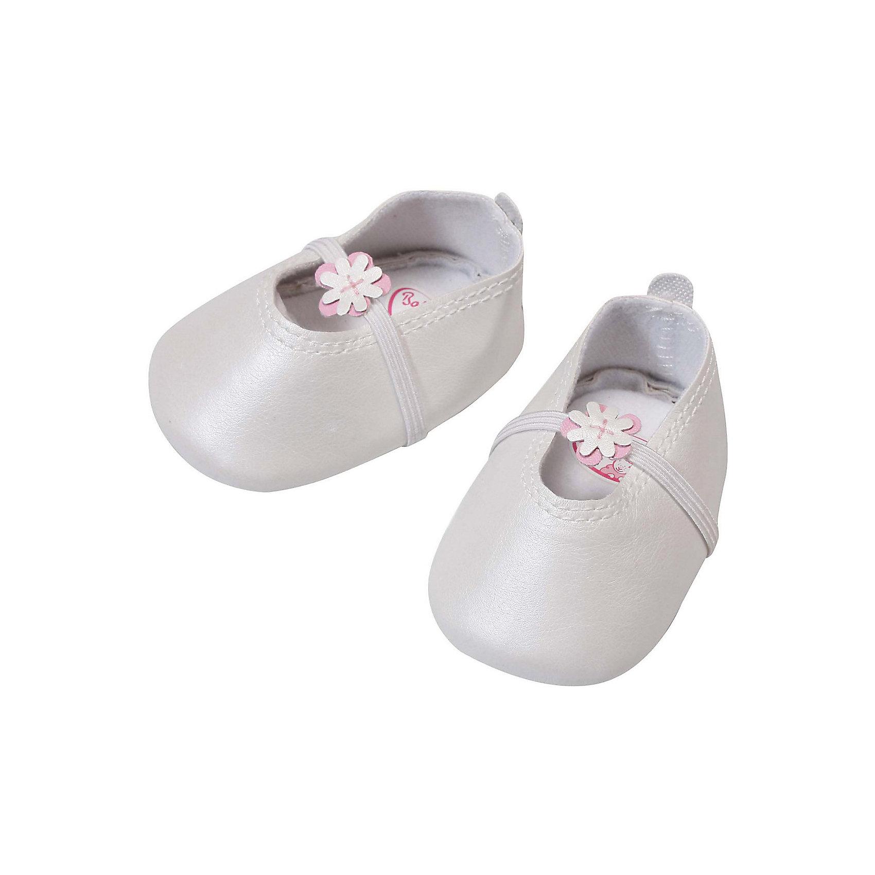 Ботиночки, белые, Baby Annabell