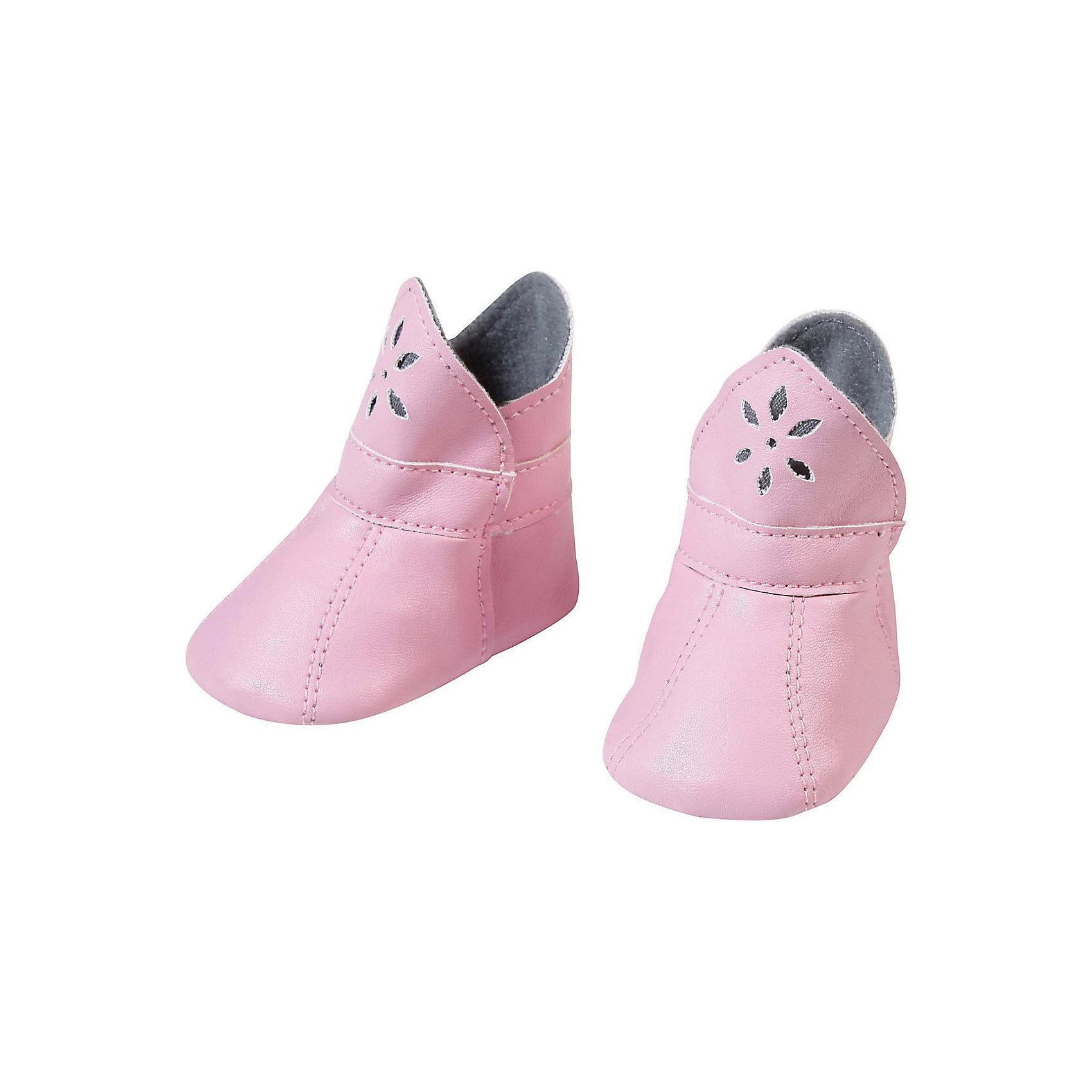 Ботиночки, розовые, Baby Annabell