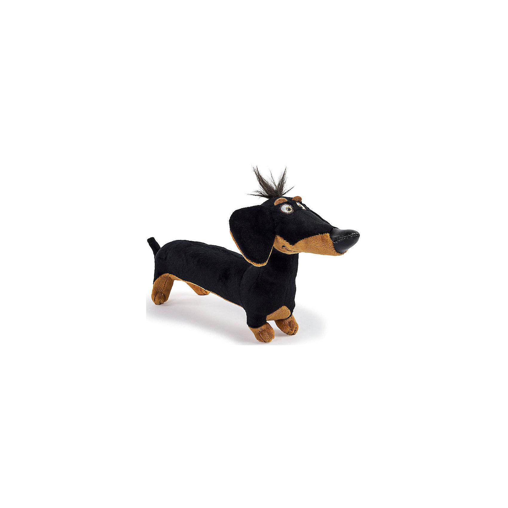 Spin Master Мягкая игрушка Тайная жизнь домашних животных - Такса Бадди, 15 см spin master большой автомобиль спасателей погрузчик рокки щенячий патруль