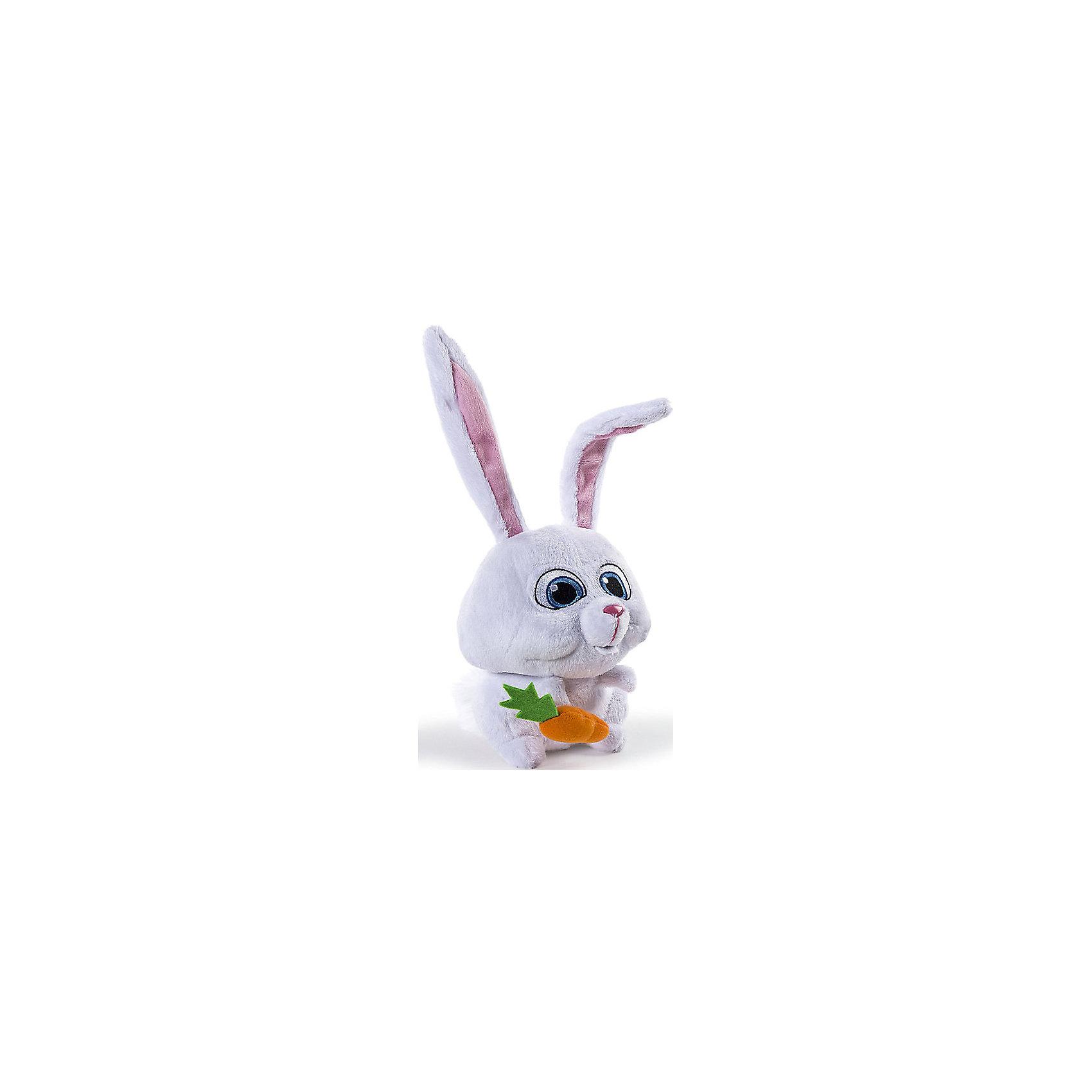 Spin Master Мягкая игрушка Тайная жизнь домашних животных - Кролик Снежок, 15 см spin master большой автомобиль спасателей погрузчик рокки щенячий патруль