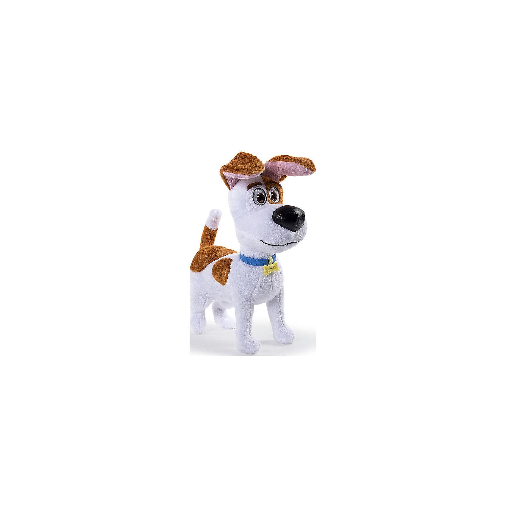 Spin Master Мягкая игрушка Тайная жизнь домашних животных - терьер Макс, 15 см spin master большой автомобиль спасателей погрузчик рокки щенячий патруль