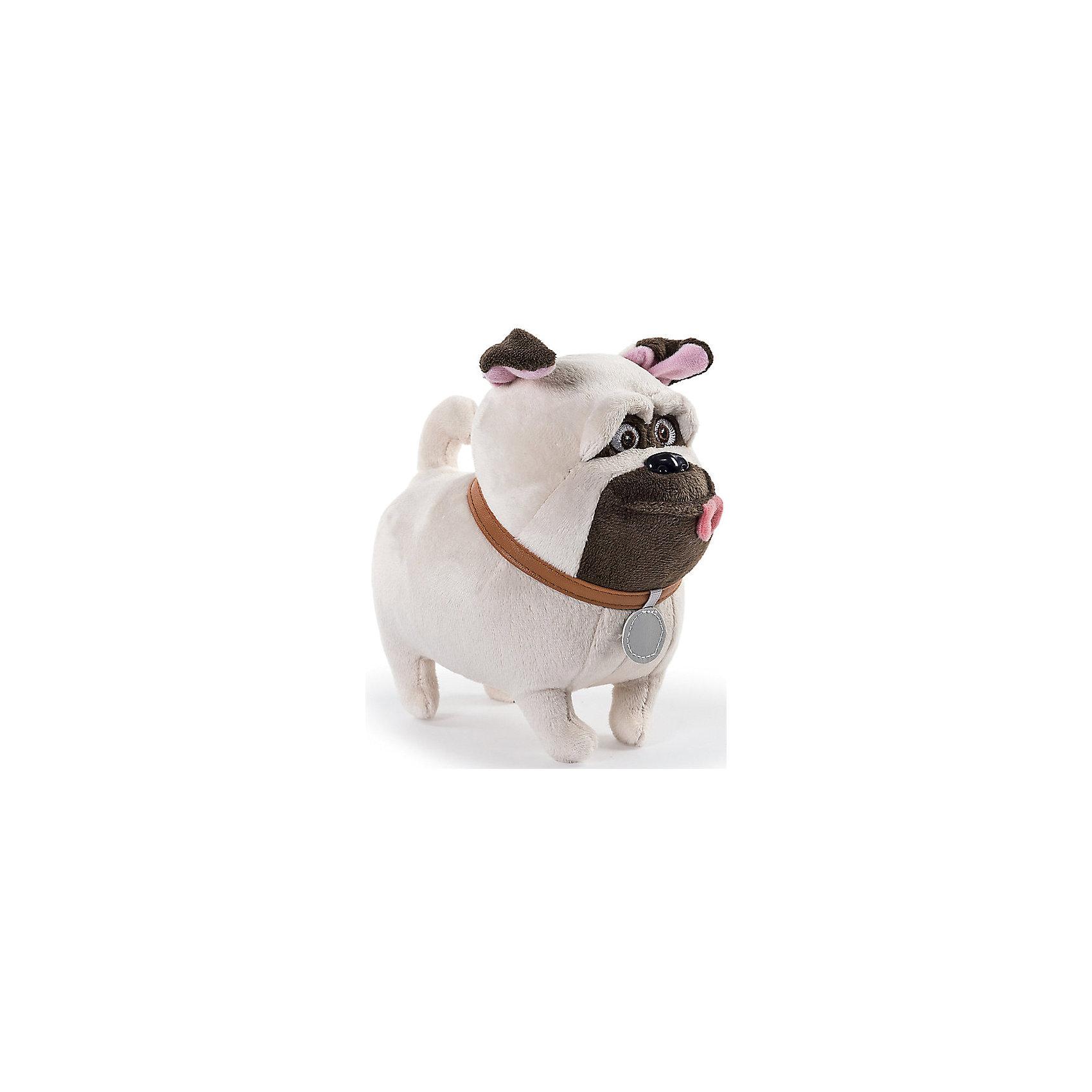 Spin Master Мягкая игрушка Тайная жизнь домашних животных - Мопс Мел, 15 см spin master большой автомобиль спасателей погрузчик рокки щенячий патруль