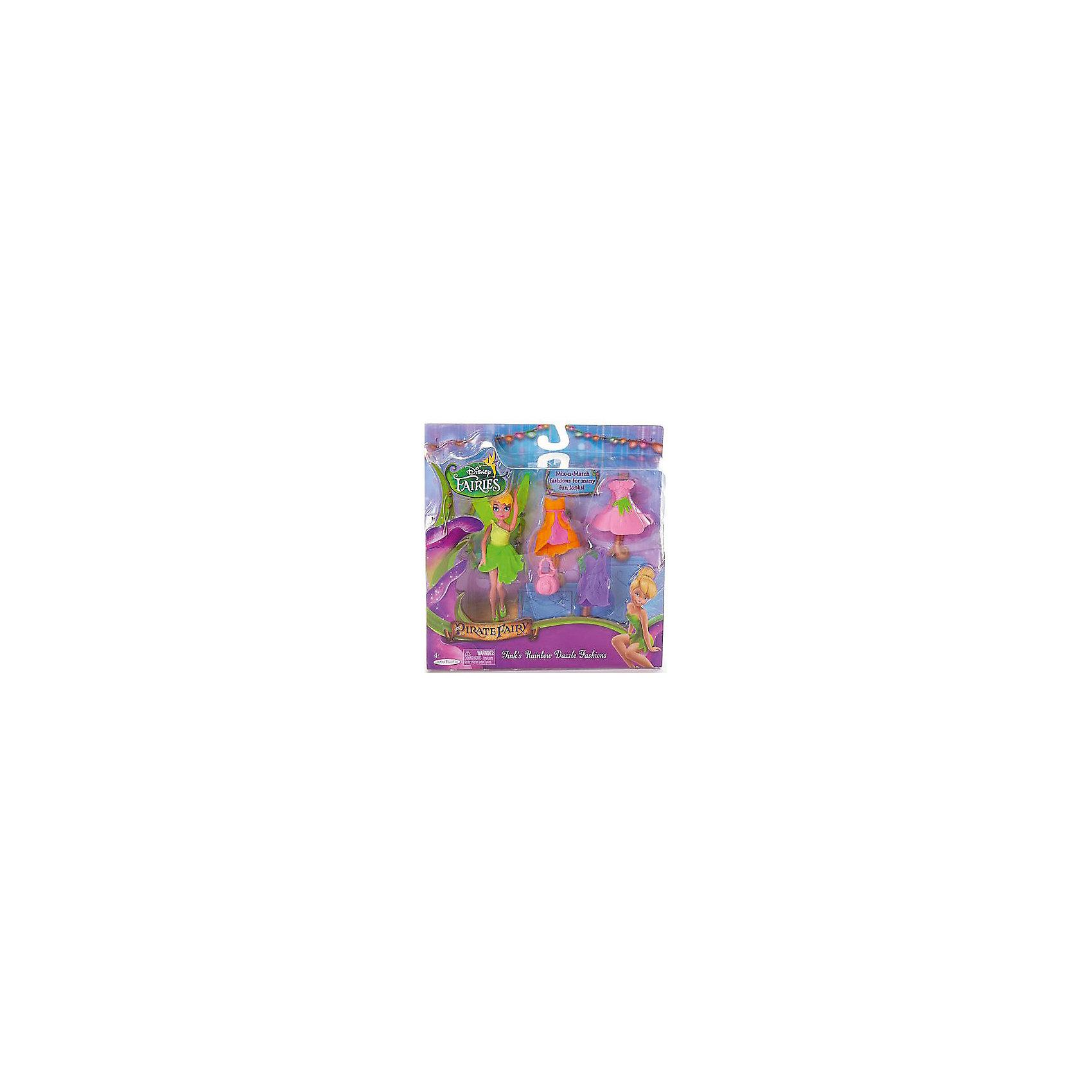 Фея Диснея с 3 платьями, Динь-Динь, 11 смХарактеристики товара:<br><br>- цвет: разноцветный;<br>- материал: пластик;<br>- подвижные части тела;<br>- комплектация: кукла, аксессуары;<br>- размер упаковки: 25х6х25 см.<br>- размер куклы: 11 см.<br><br>Эти симпатичные куклы в виде фей из диснеевского мультфильма «Тайны зимнего леса» от известного бренда не оставят девочку равнодушной! Какая девочка сможет отказаться поиграть с куклами, которых можно переодевать благодаря набору аксессуаров?! В комплект входят наряды и аксессуары. Игрушка очень качественно выполнена, поэтому она станет замечательным подарком ребенку. <br>Продается набор в красивой удобной упаковке. Изделие произведено из высококачественного материала, безопасного для детей.<br><br>Мини-куклу Фея, с 3 платьями, салатовая, Феи Дисней, можно купить в нашем интернет-магазине.<br><br>Ширина мм: 205<br>Глубина мм: 205<br>Высота мм: 50<br>Вес г: 177<br>Возраст от месяцев: 36<br>Возраст до месяцев: 2147483647<br>Пол: Женский<br>Возраст: Детский<br>SKU: 5140246