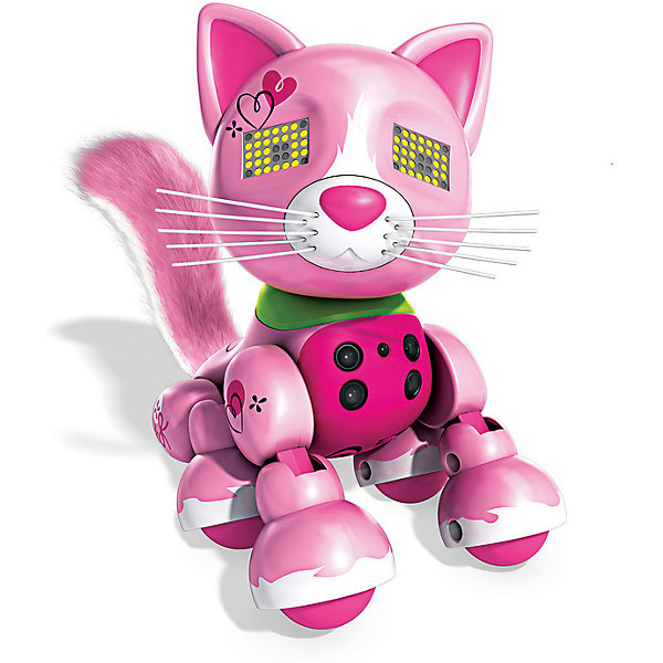 Интерактивный Котёнок, розовый, Zoomer