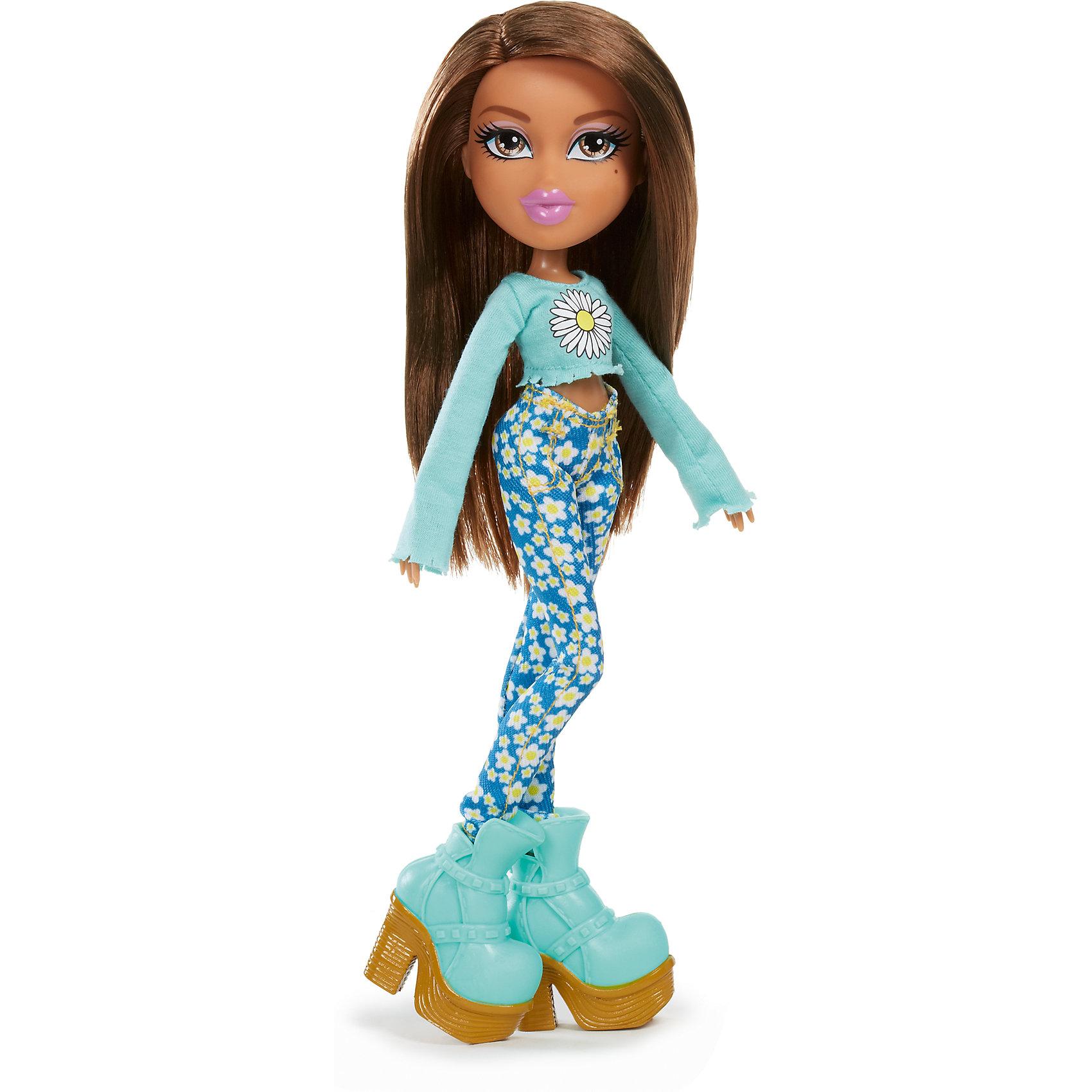 Кукла делюкс Жасмин, Диджей, BratzКуклы-модели<br>Характеристики товара:<br><br>- цвет: разноцветный;<br>- материал: пластик;<br>- подвижные части тела;<br>- комплектация: кукла, аксессуары;<br>- размер упаковки: 15х6х30 см.<br>- размер куклы: 27 см.<br><br>Эти симпатичные куклы диджеи-Bratz от известного бренда не оставят девочку равнодушной! Какая девочка сможет отказаться поиграть с куклами, которым можно менять образ благодаря набору аксессуаров?! В комплект входит одежда и аксессуары для куклы-диджея. Игрушка очень качественно выполнена, поэтому она станет замечательным подарком ребенку. <br>Продается набор в красивой удобной упаковке. Изделие произведено из высококачественного материала, безопасного для детей.<br><br>Куклу делюкс Жасмин, Диджей, от бренда Bratz можно купить в нашем интернет-магазине.<br><br>Ширина мм: 160<br>Глубина мм: 310<br>Высота мм: 70<br>Вес г: 4000<br>Возраст от месяцев: 72<br>Возраст до месяцев: 2147483647<br>Пол: Женский<br>Возраст: Детский<br>SKU: 5141876